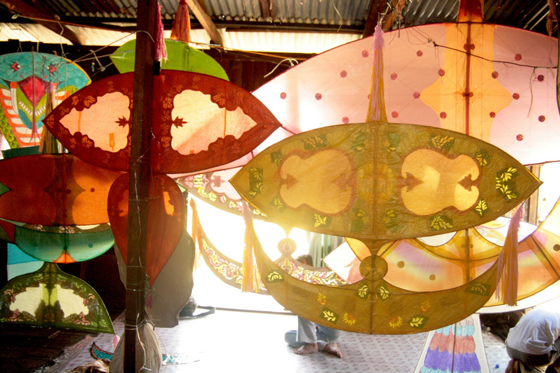 Kelantan is home to a wide range of traditional kites that are more than just objects of pleasure - they are serious works of art.