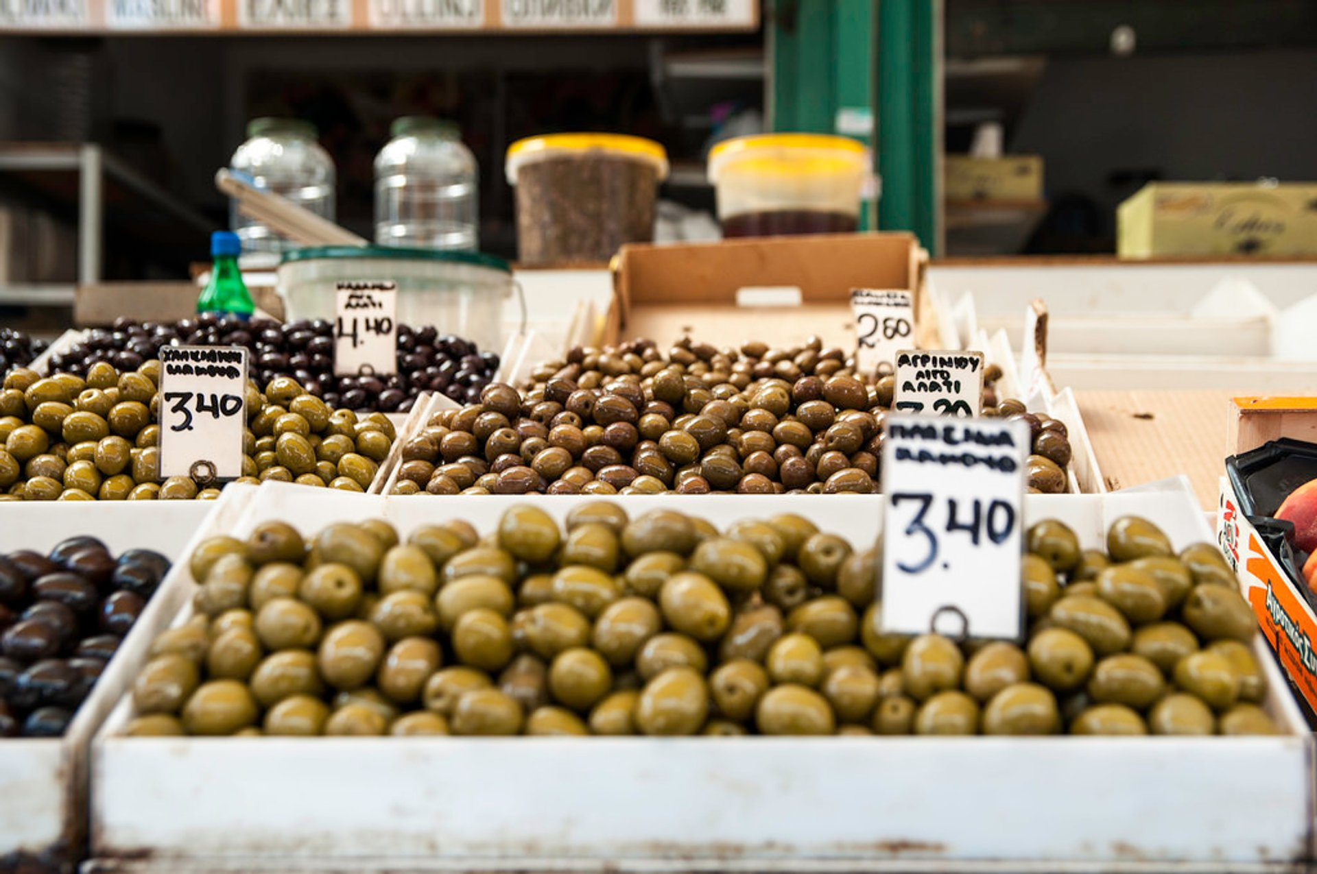 Best time for Olives and Olive Oil in Athens 2020