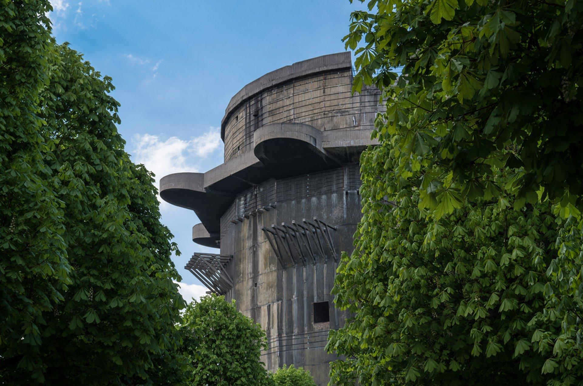 Flak Towers (Flaktürme) in Vienna - Best Season 2019