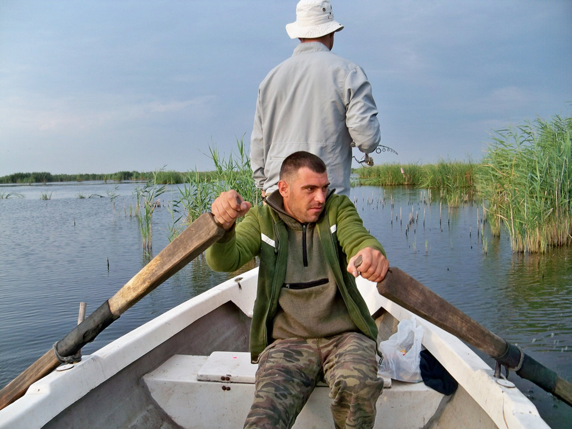Going for fishing on the Danube Delta 2020