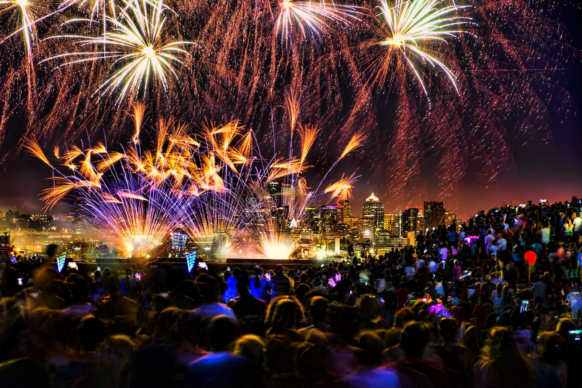 4th of July Weekend Events & Fireworks in Seattle 2020 - Best Time