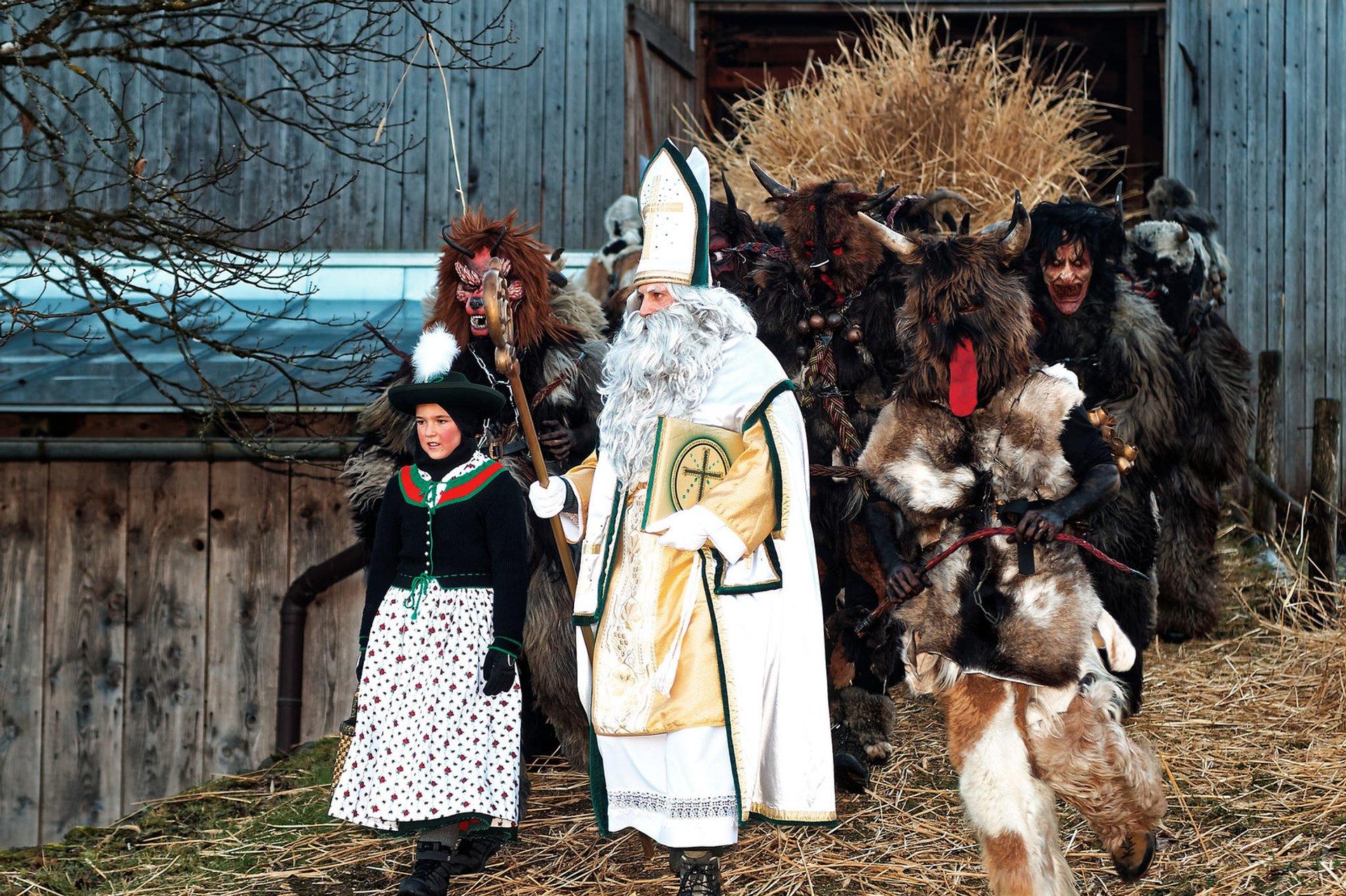 Krampus Nacht and Krampus Run in Bavaria - Best Season 2020