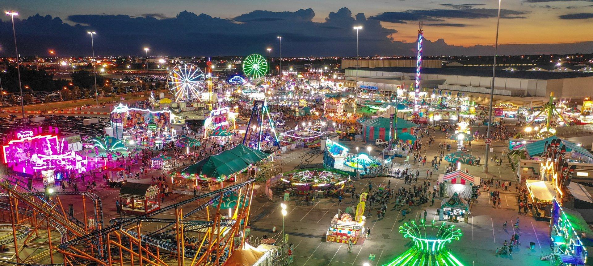 Tn State Fair 2020.Oklahoma State Fair 2020 Dates Map