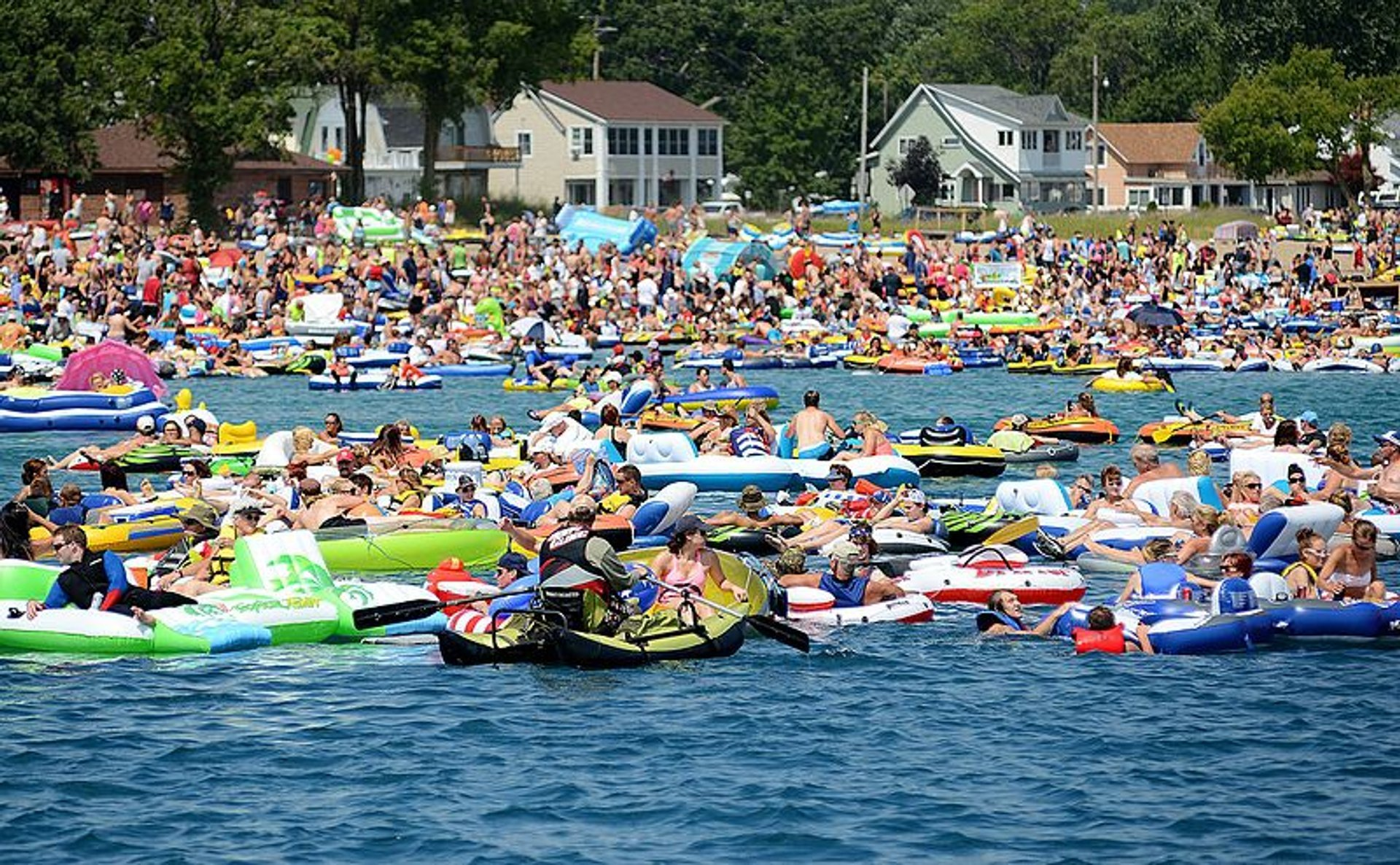 Port Huron Float Down in Midwest 2020 - Best Time