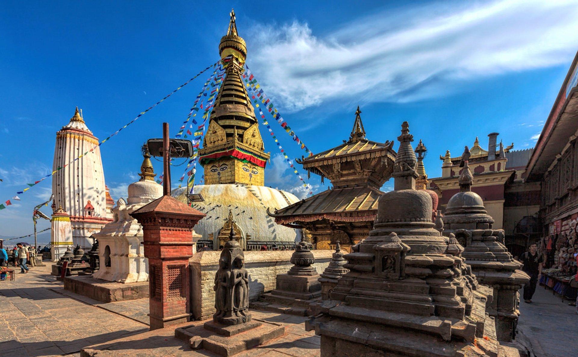 Swayambhunath (Monkey Temple) in Kathmandu - Best Season 2019