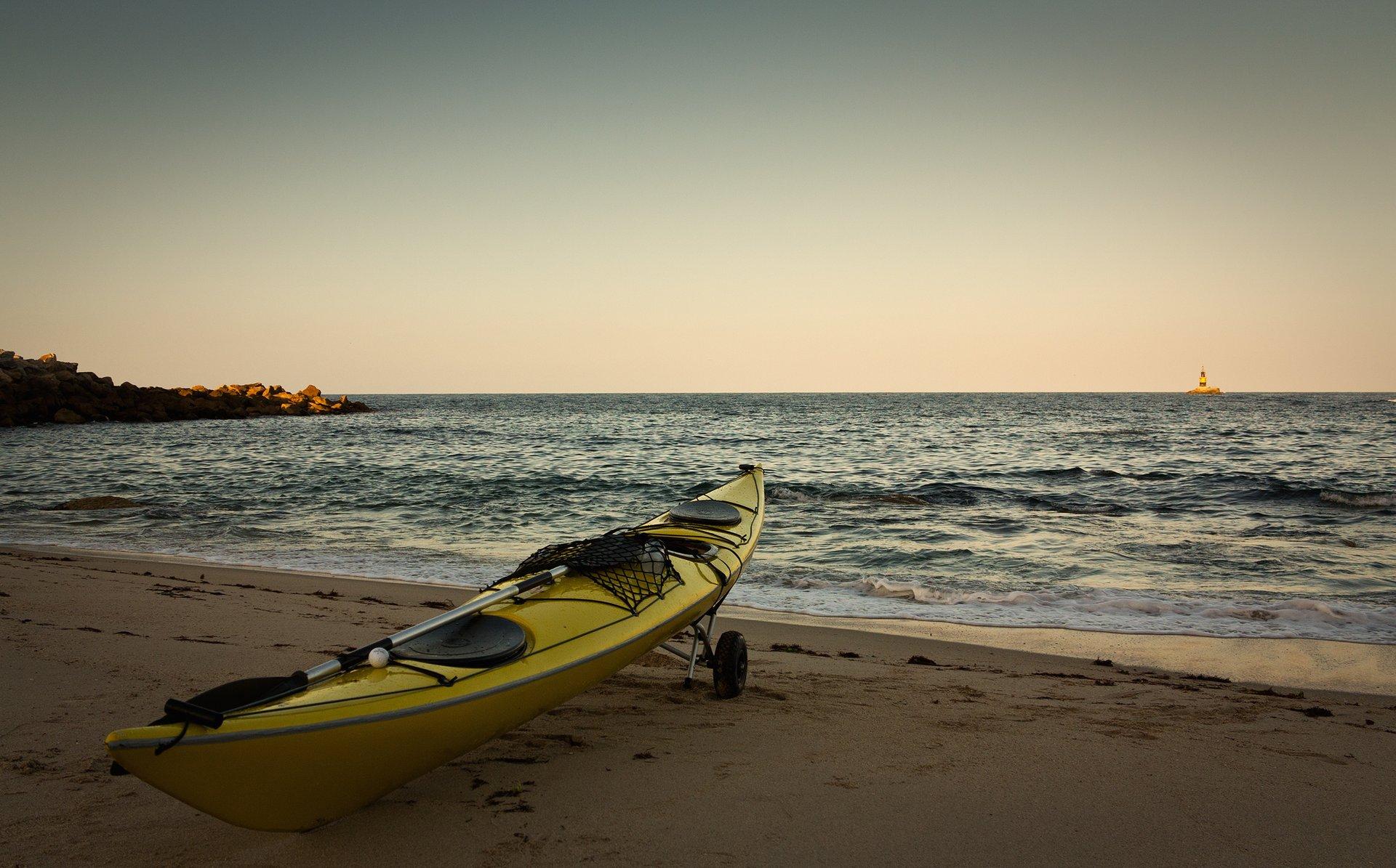 Kayaking in Galicia in Spain - Best Season 2019