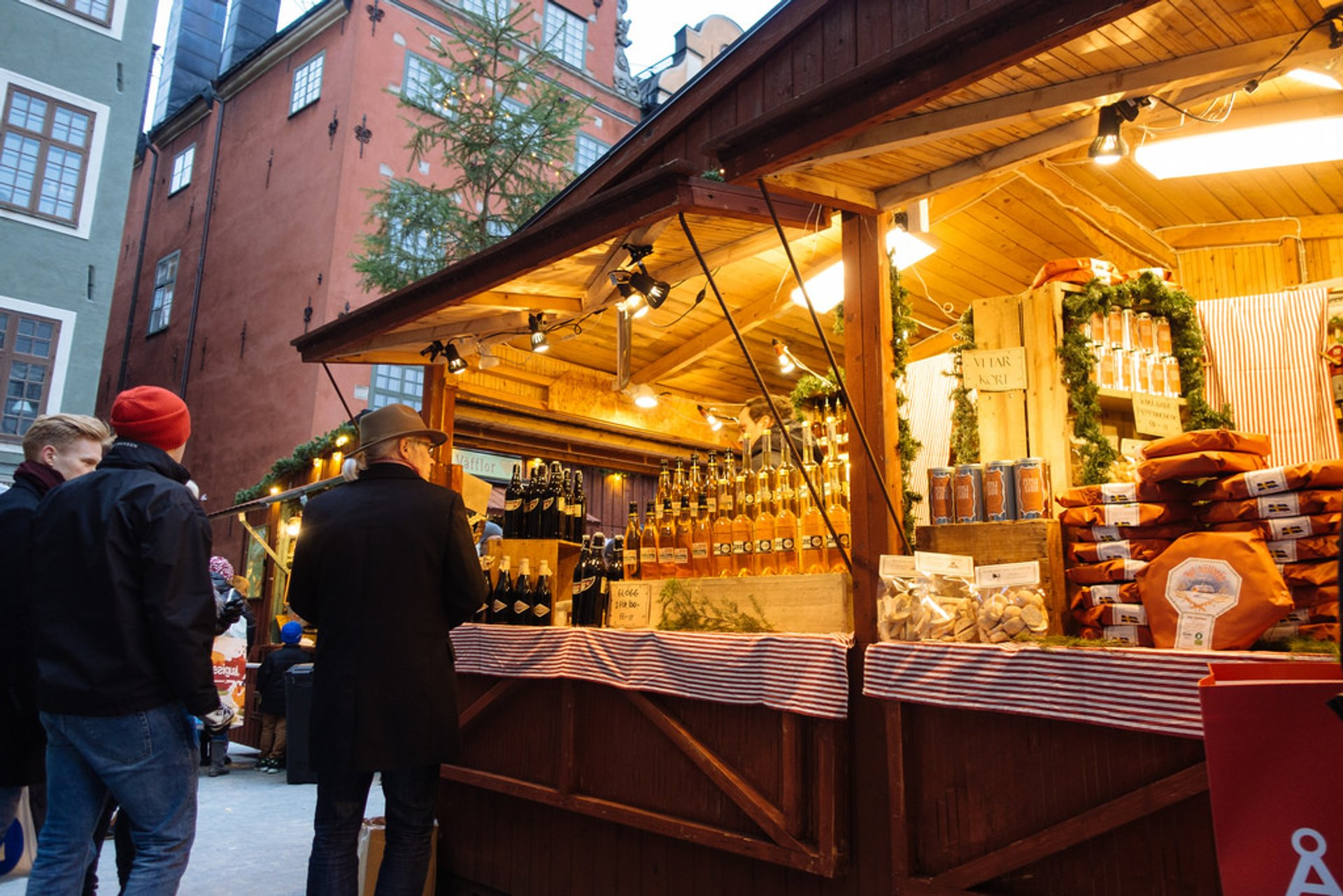 Gamla Stan Christmas Market, Old Town, Stockholm 2020