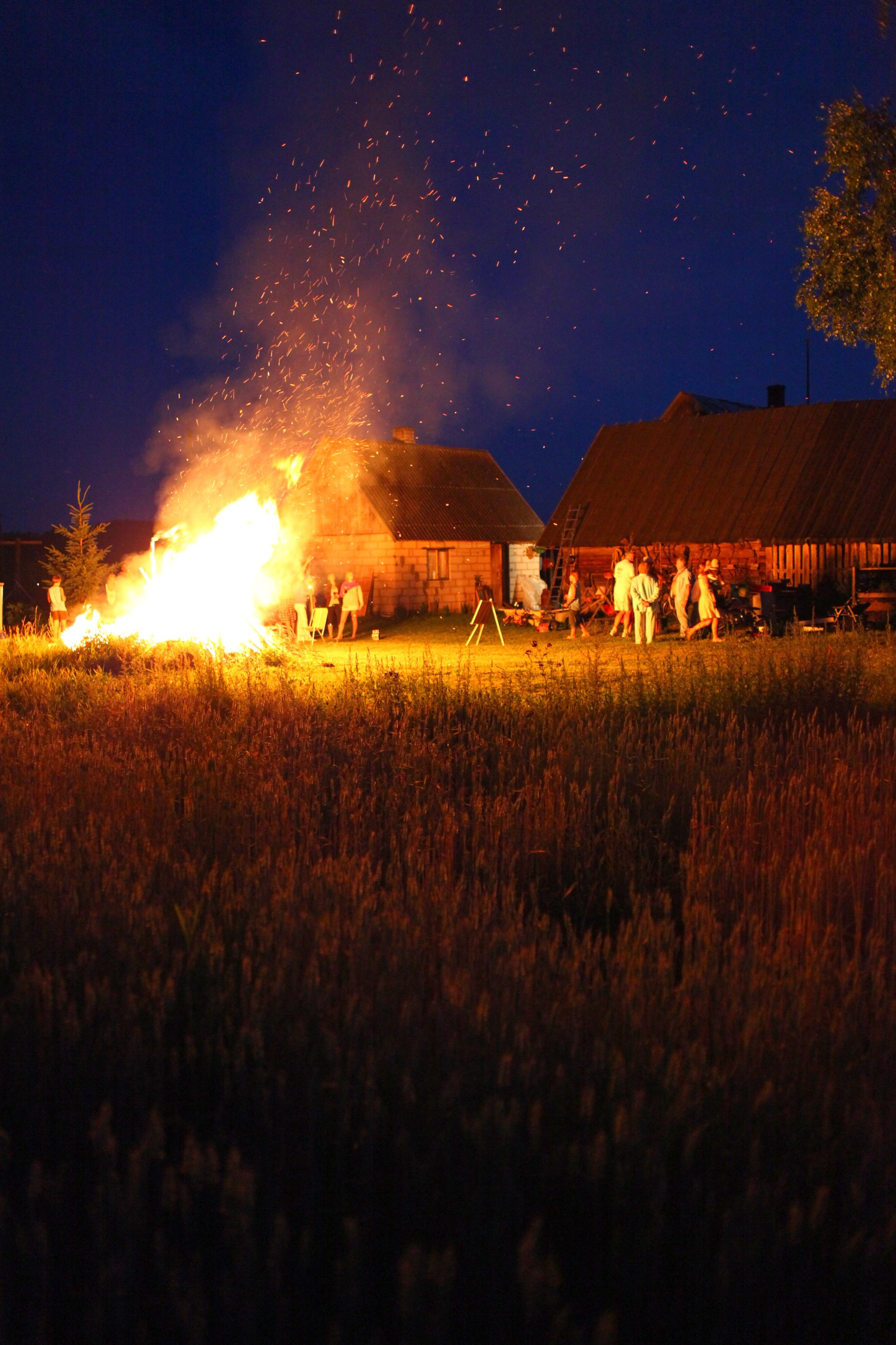 Estonian summer nights, Kurista, Tartumaa, Estonia 2020