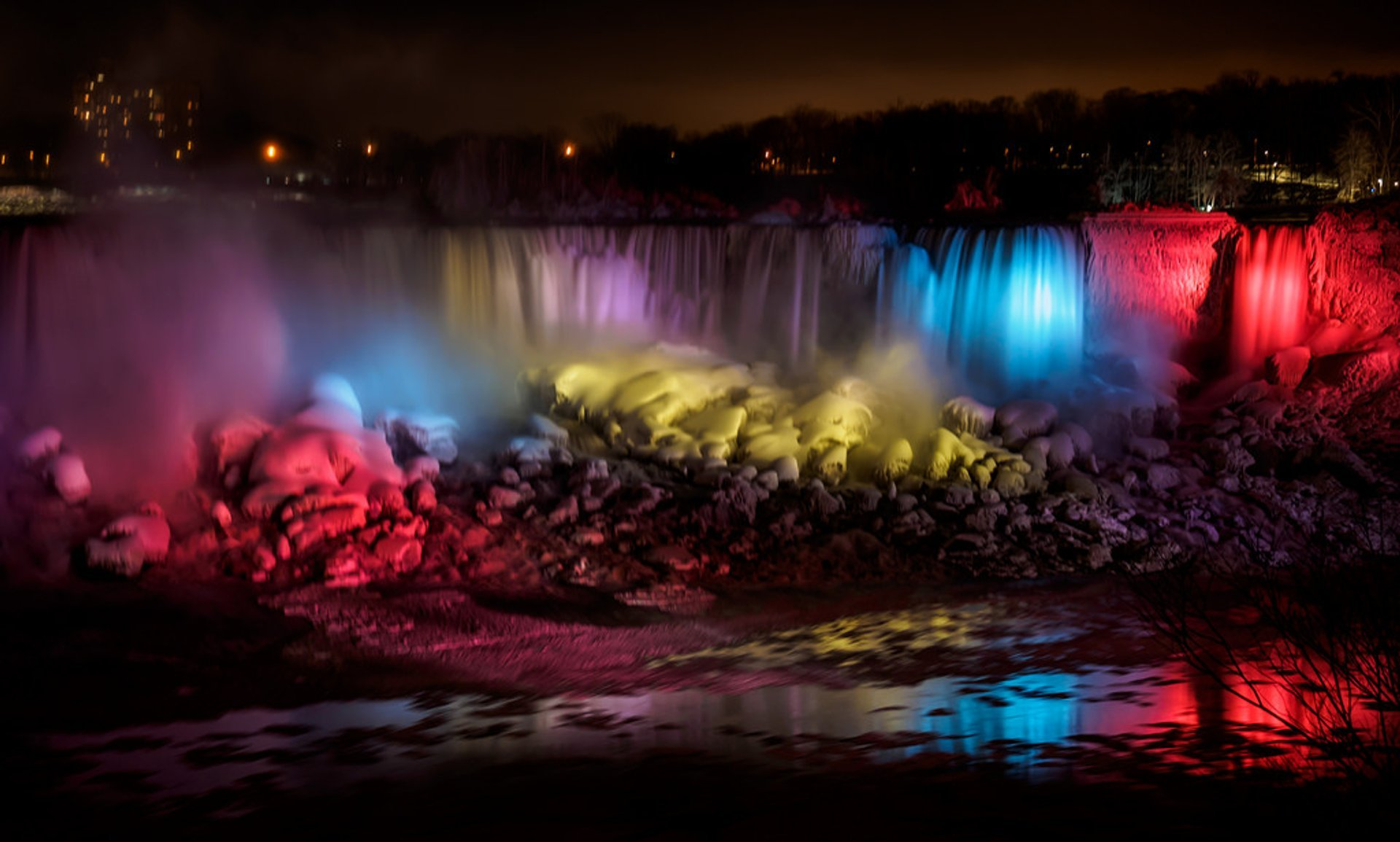 Winter Festival Of Lights 2019 In Niagara Falls Dates Map
