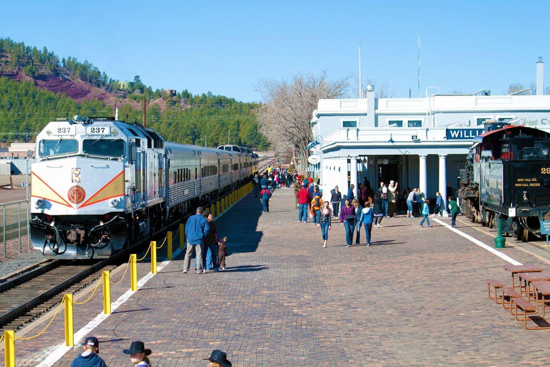 Train at Williams Depot 2020