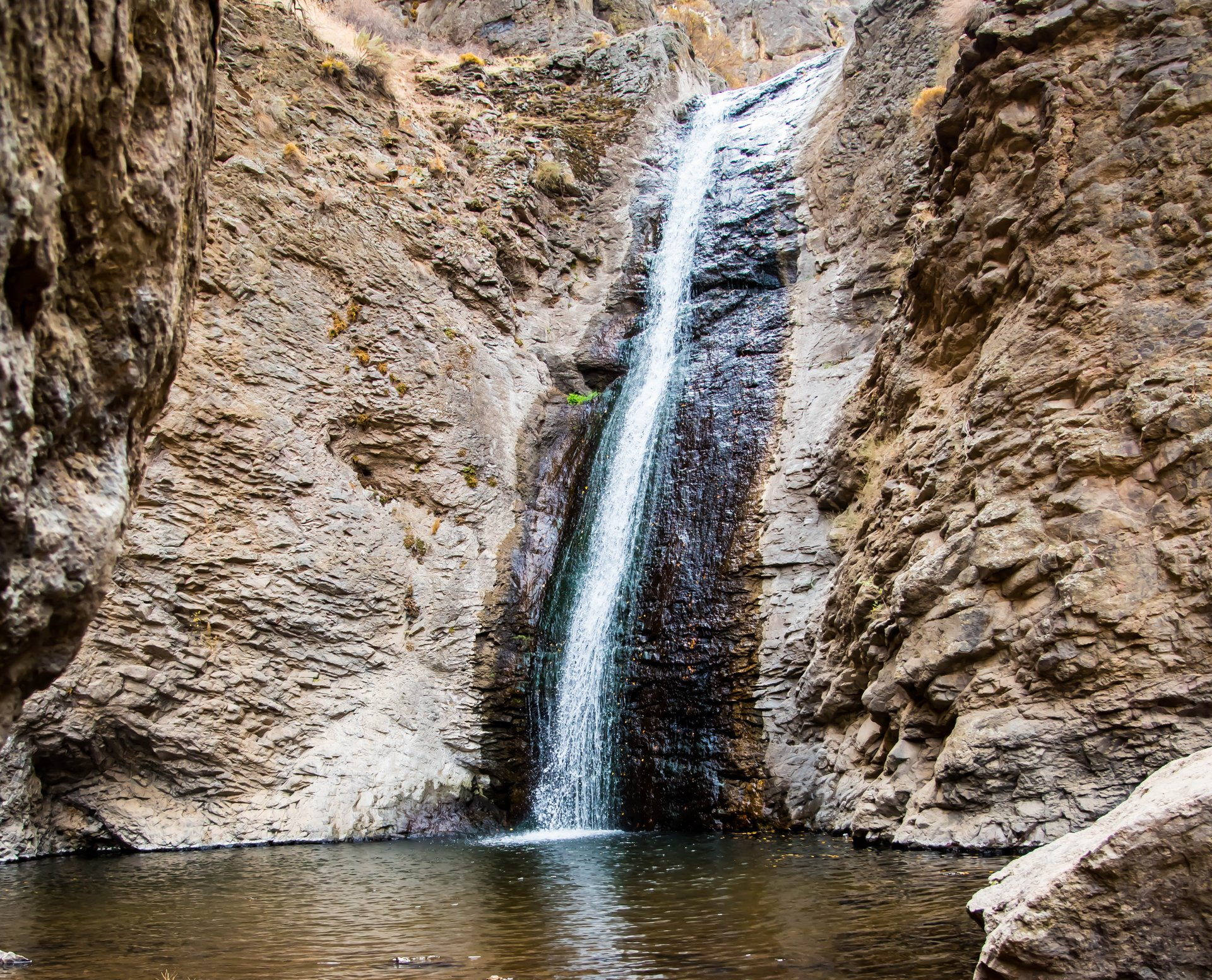 Jump Creek Falls in Idaho - Best Season 2020