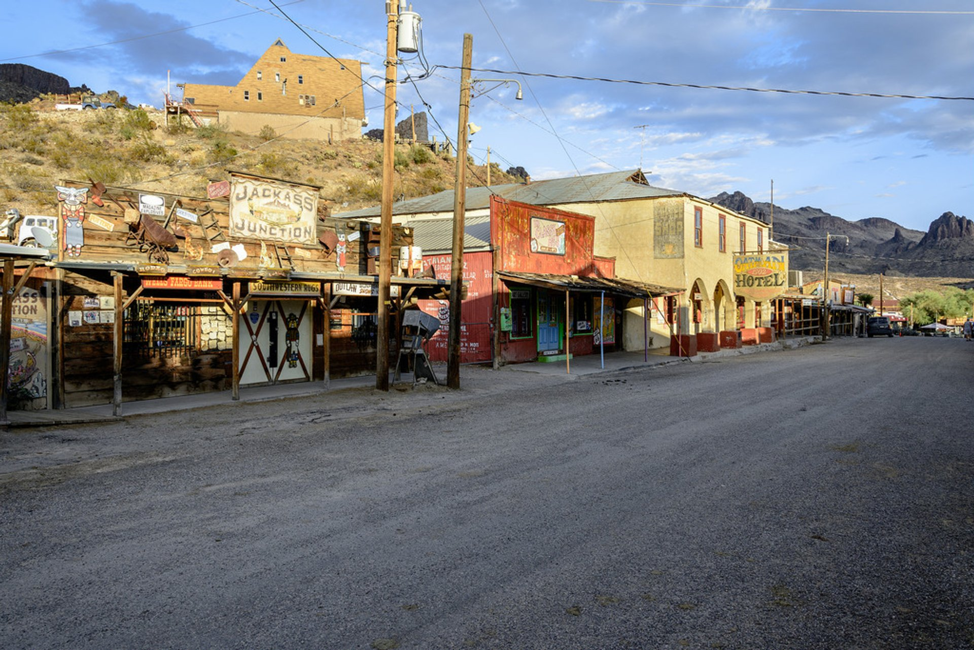 Best time for Oatman Ghost Town in Arizona 2020