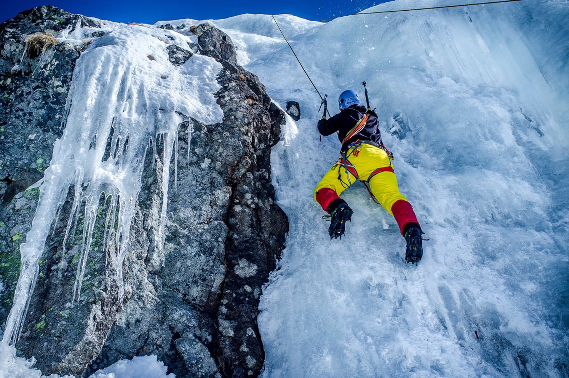 Ice Climbing in Slovakia 2019 - Best Time