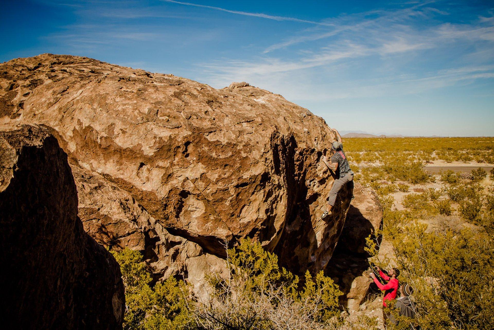 Hueco Tanks | El Paso, TX 2020
