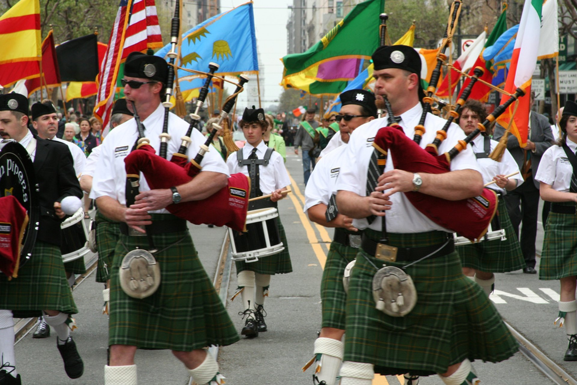 St. Patrick's Day Parade in San Francisco - Best Time