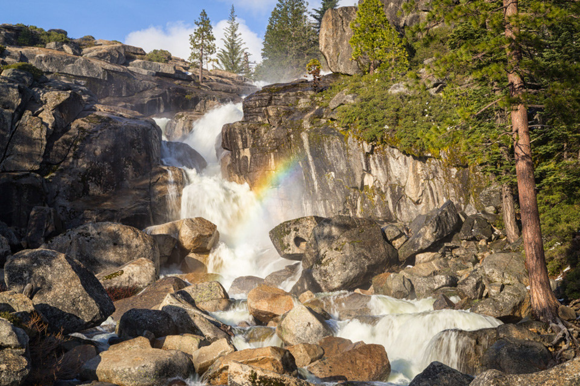 Bassi Falls in California 2020 - Best Time