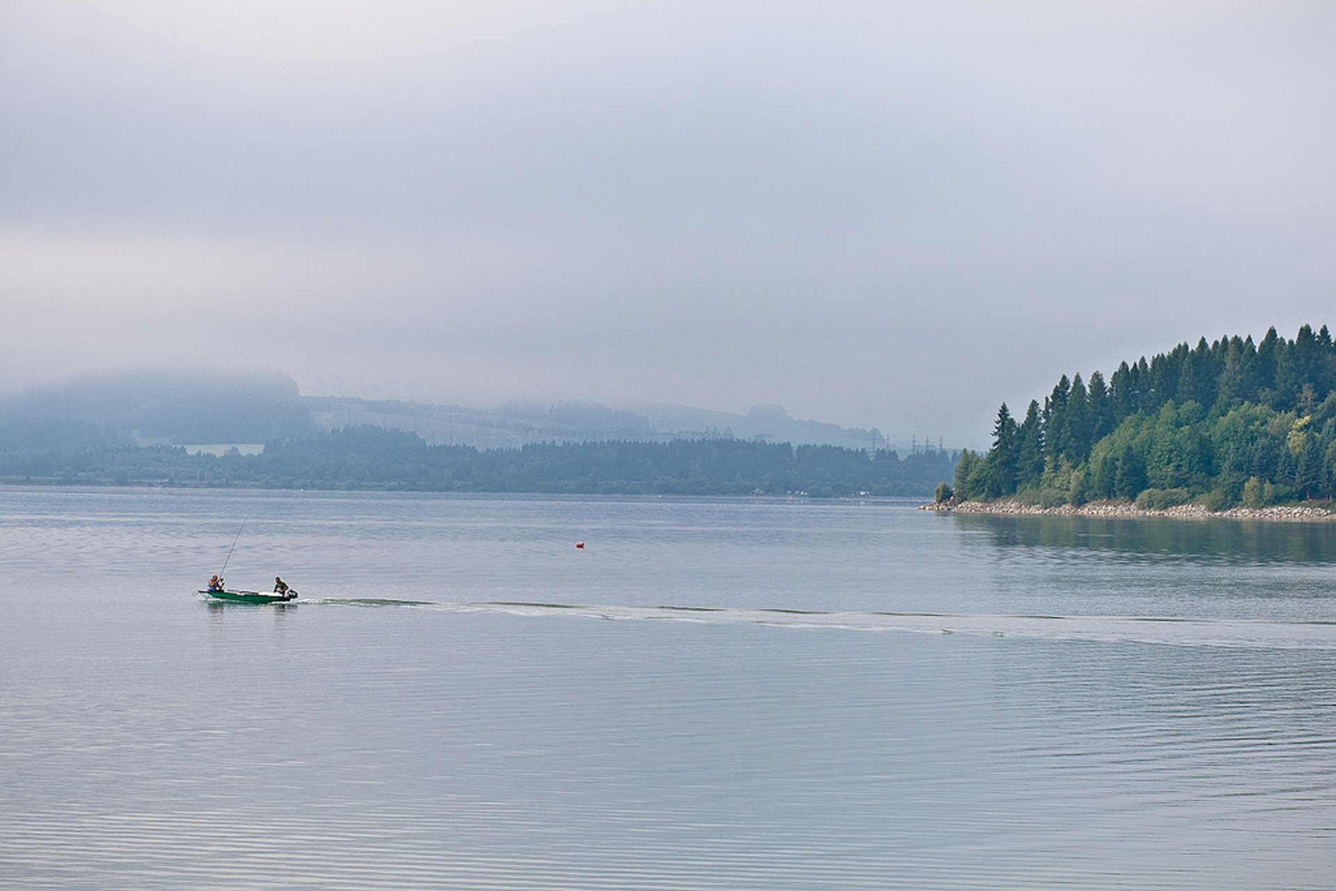Reservoir in northern Slovakia—Liptovská Mara