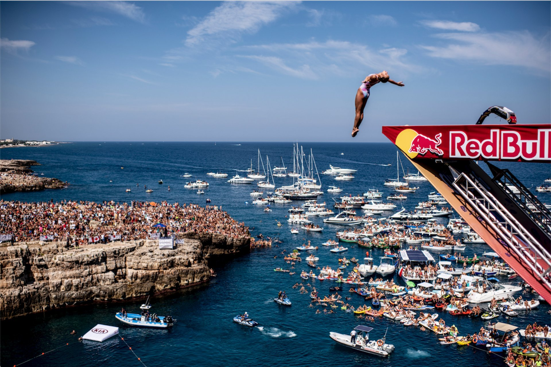 Red Bull Cliff Diving in Italy 2020 - Best Time