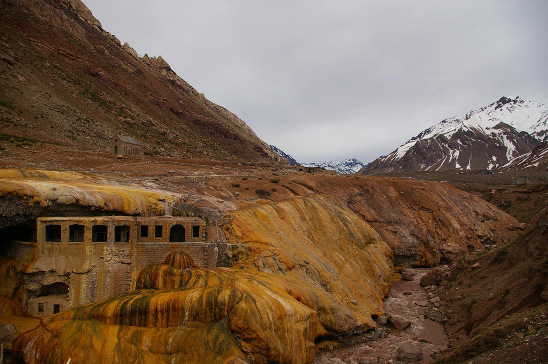 Puente del Inca (The Inca's Bridge) in Argentina - Best Season 2020