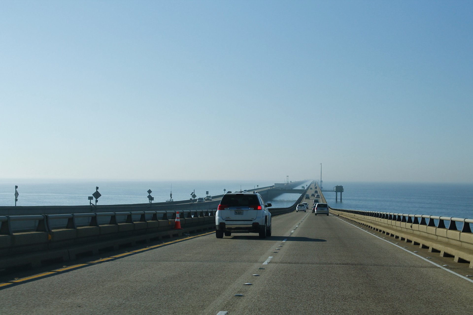 Lake Pontchartrain Causeway Bridge in New Orleans 2019 - Best Time