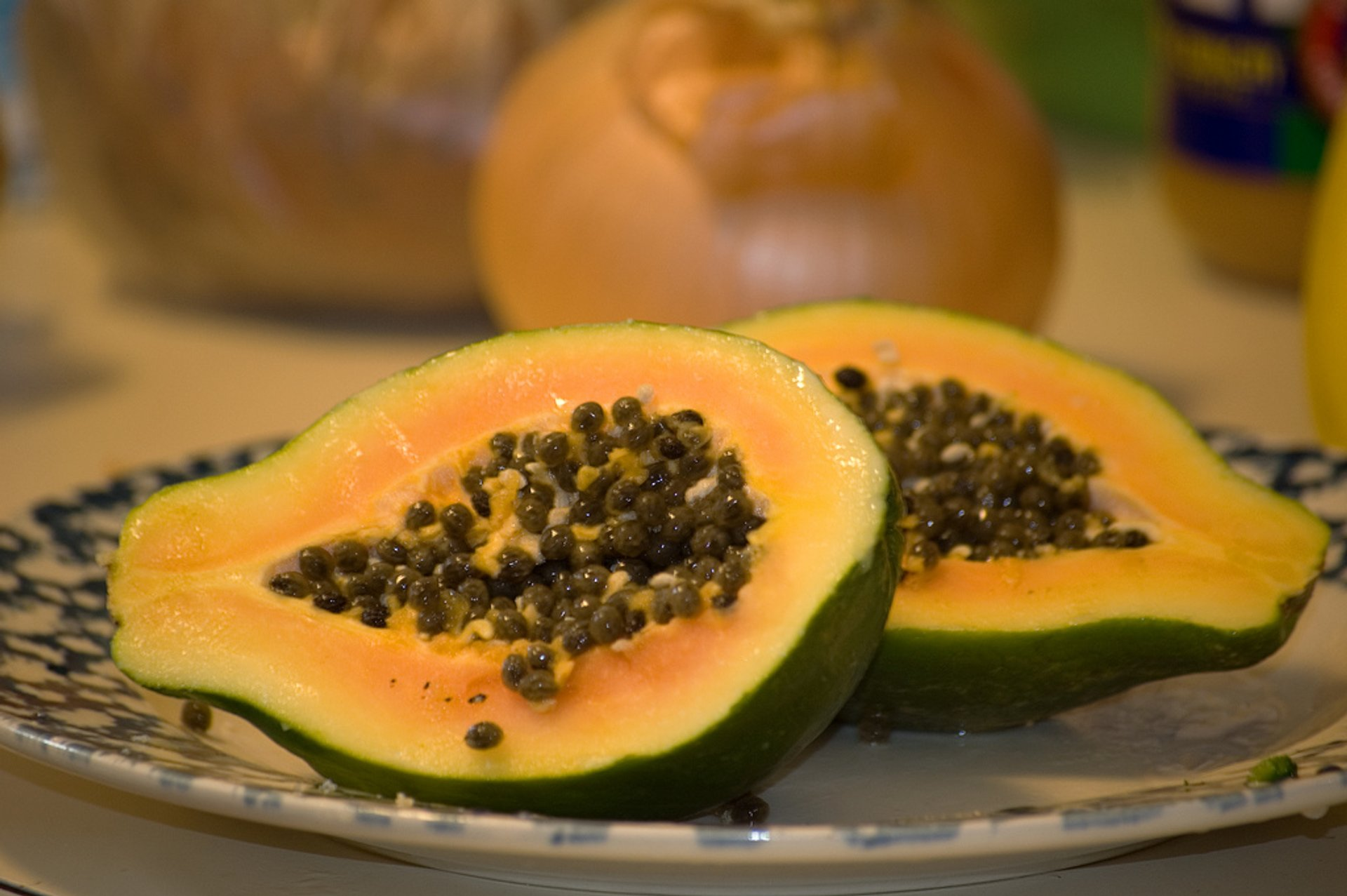 Papaya in Canary Islands - Best Season