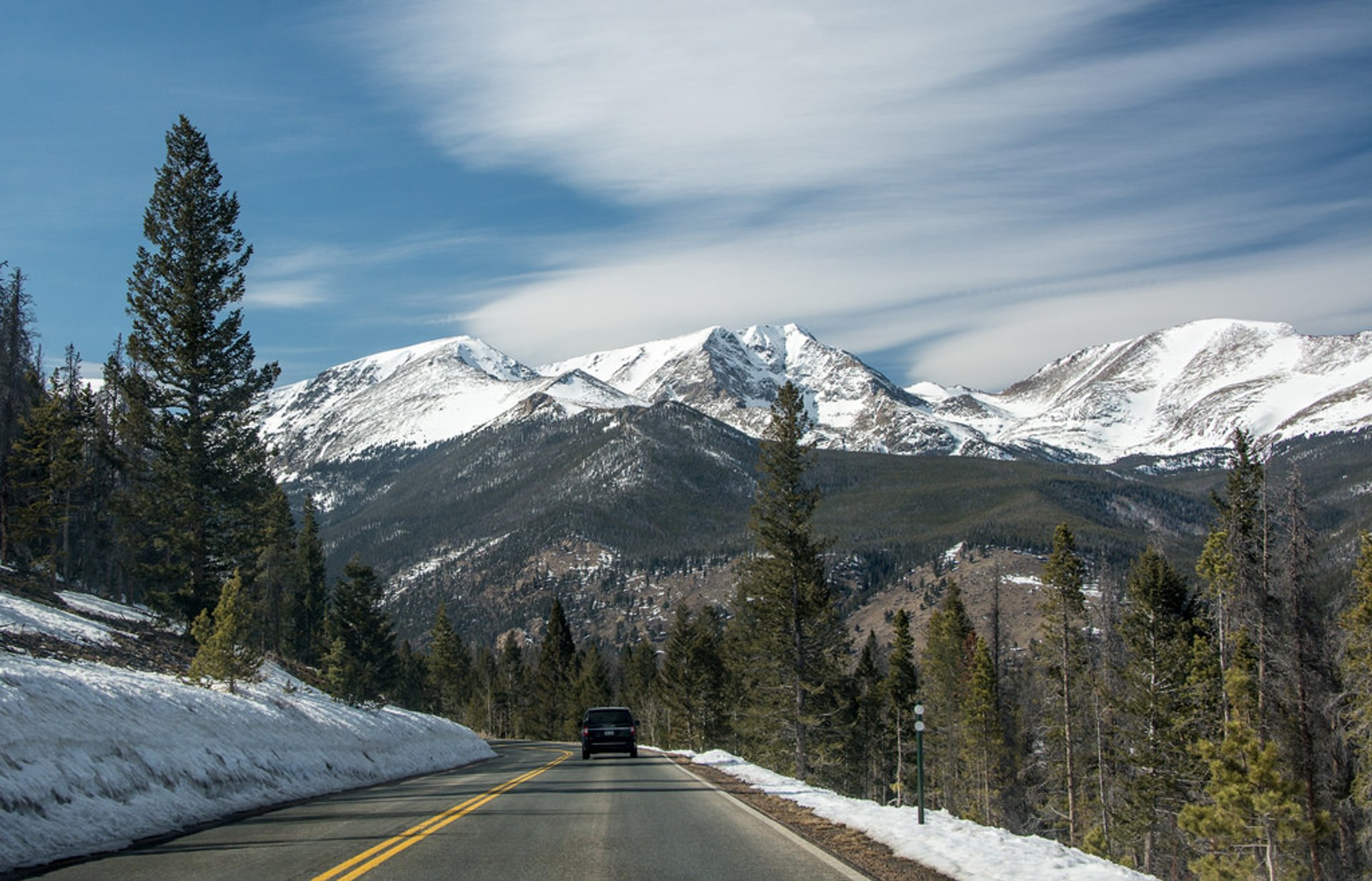 Trail Ridge Road in Colorado - Best Season 2020