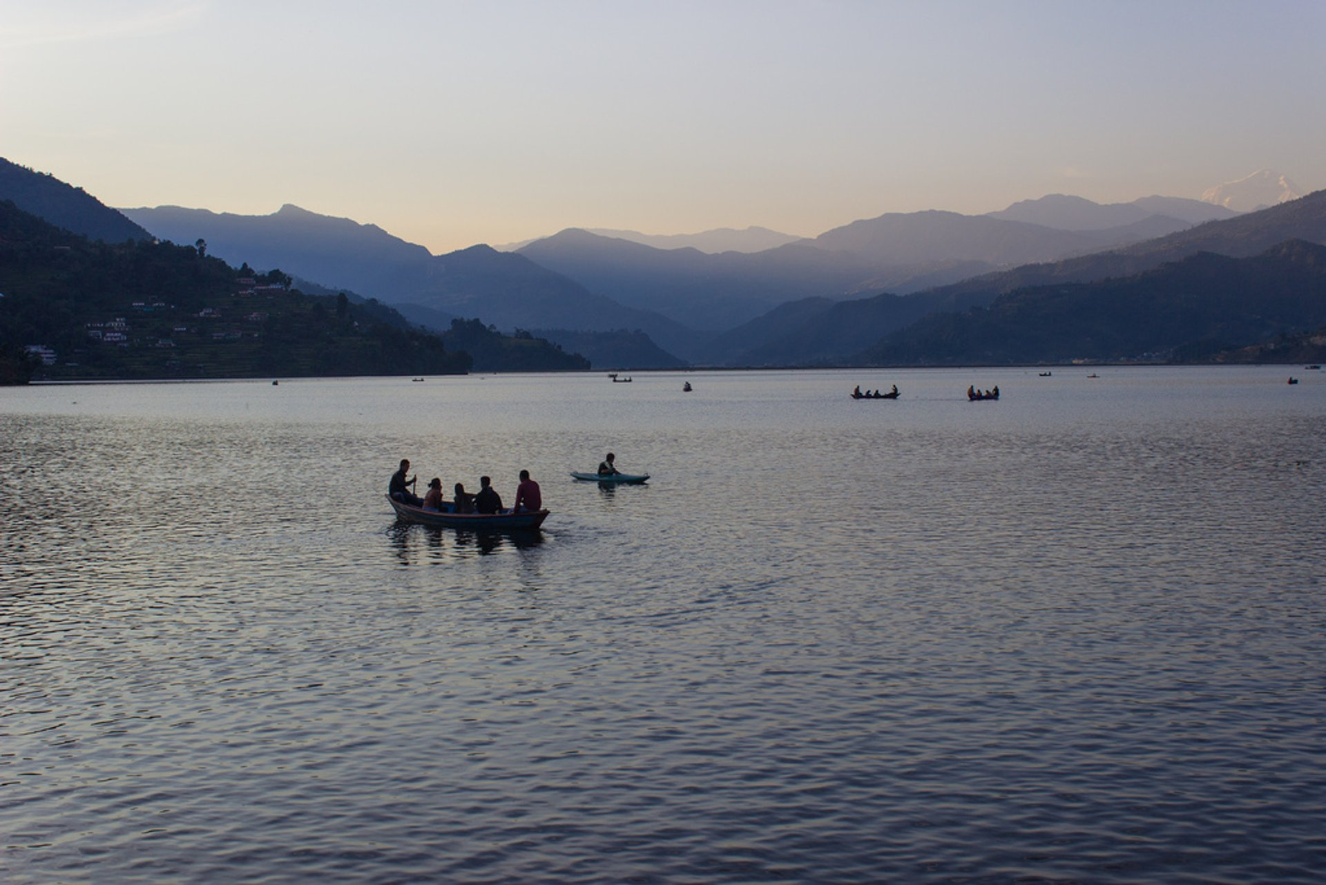 Boating with a View in Nepal - Best Season 2020