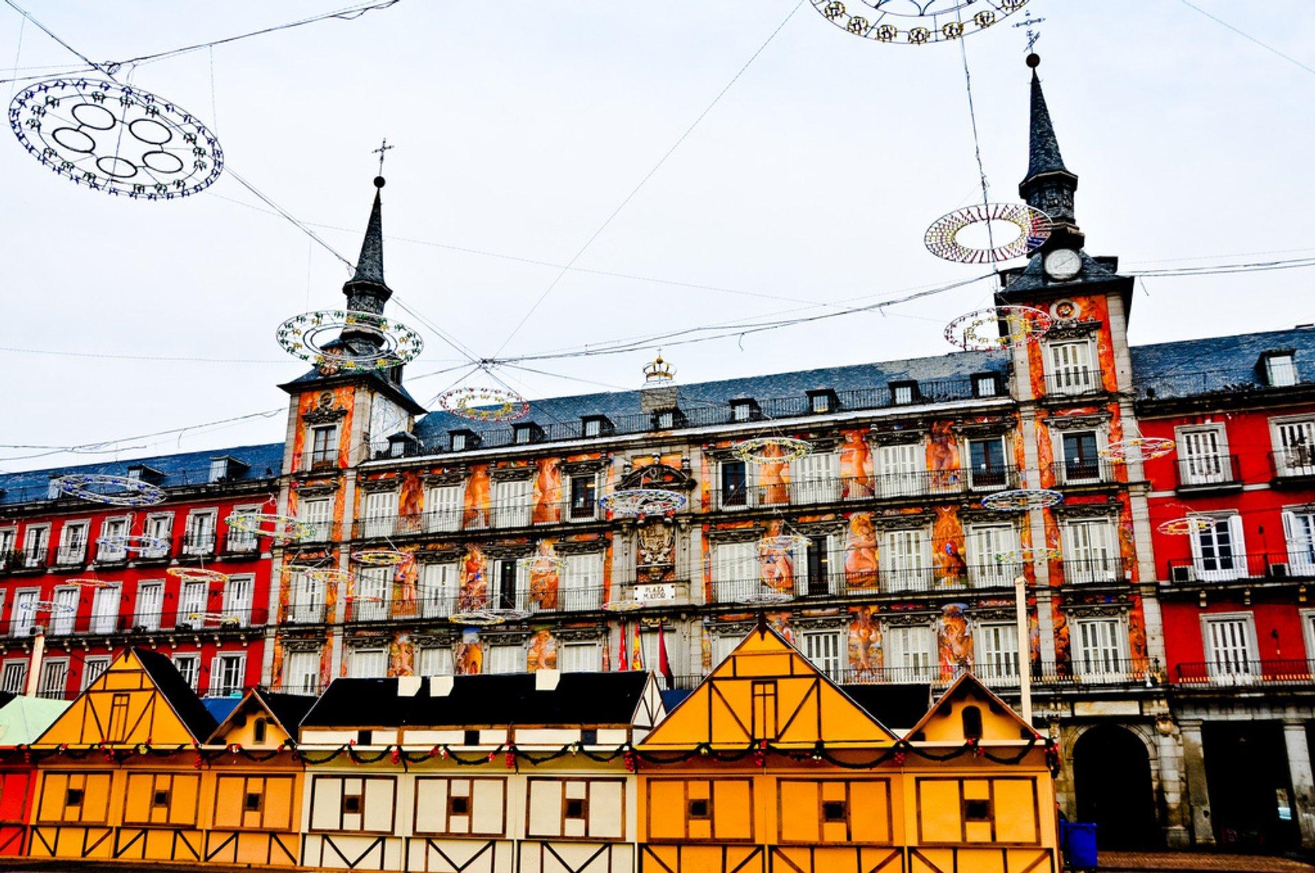 Plaza Mayor Christmas Market 2020