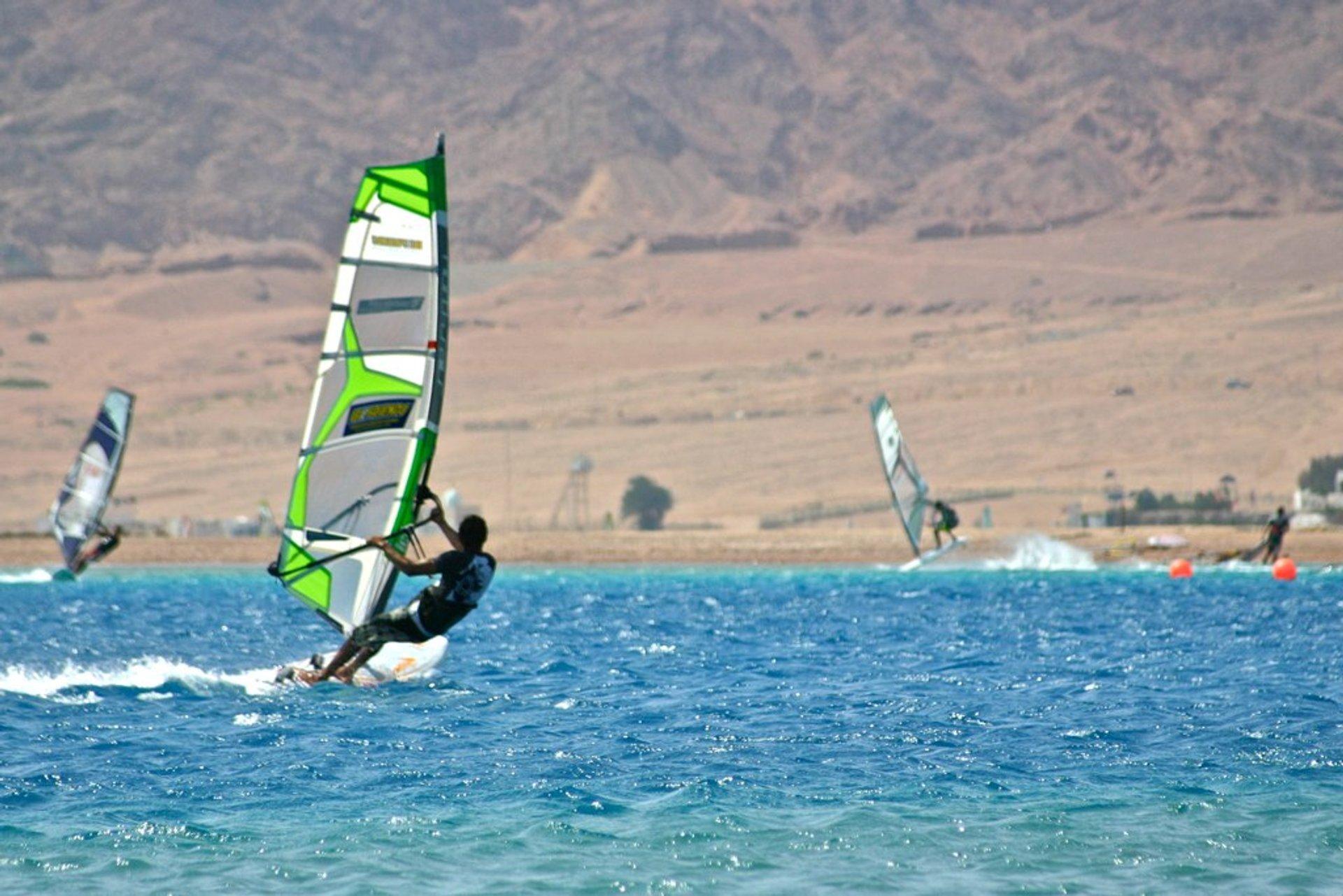 Windsurfing in Dahab in Egypt 2020 - Best Time