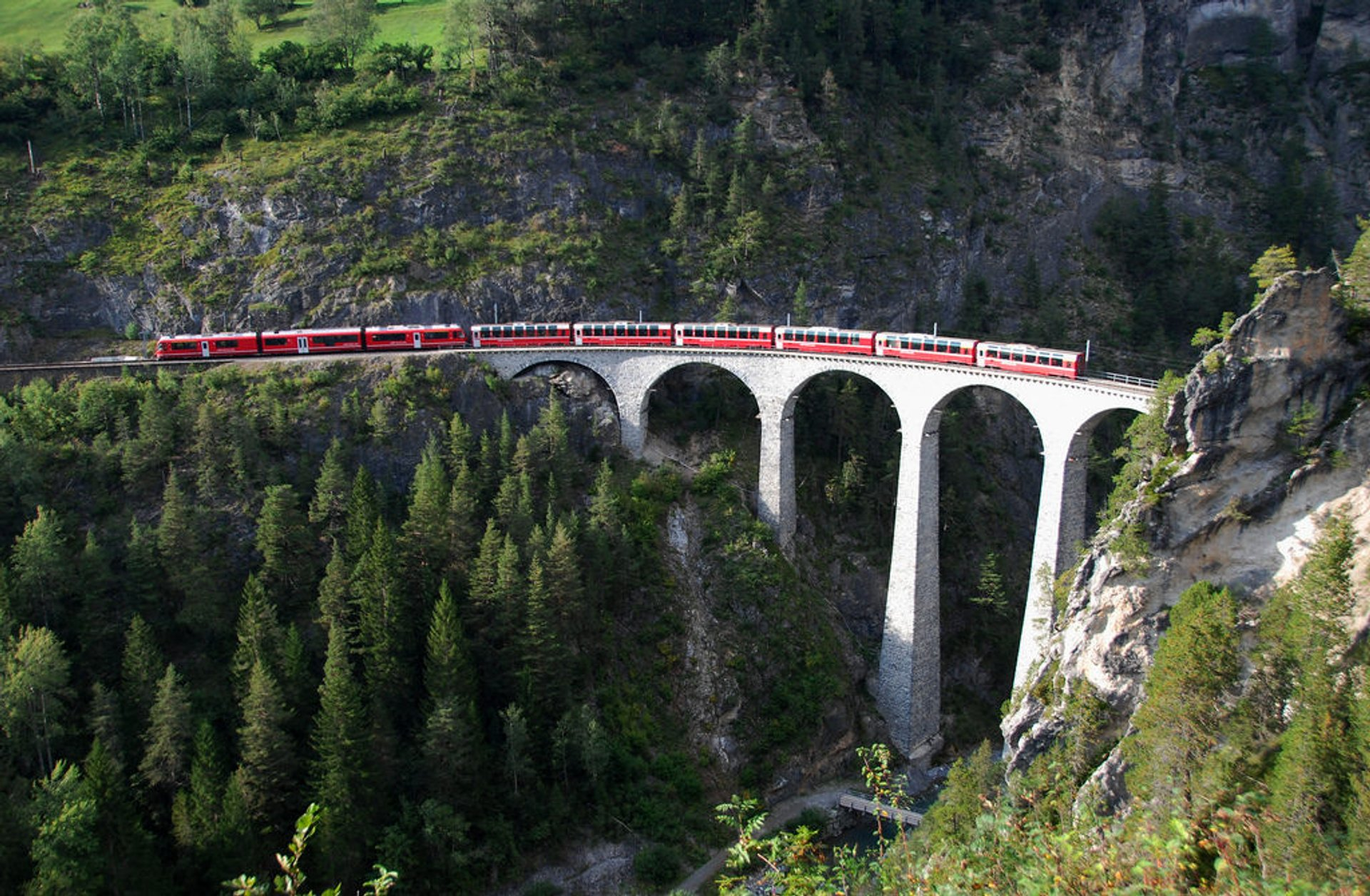 The Landwasser Viaduct