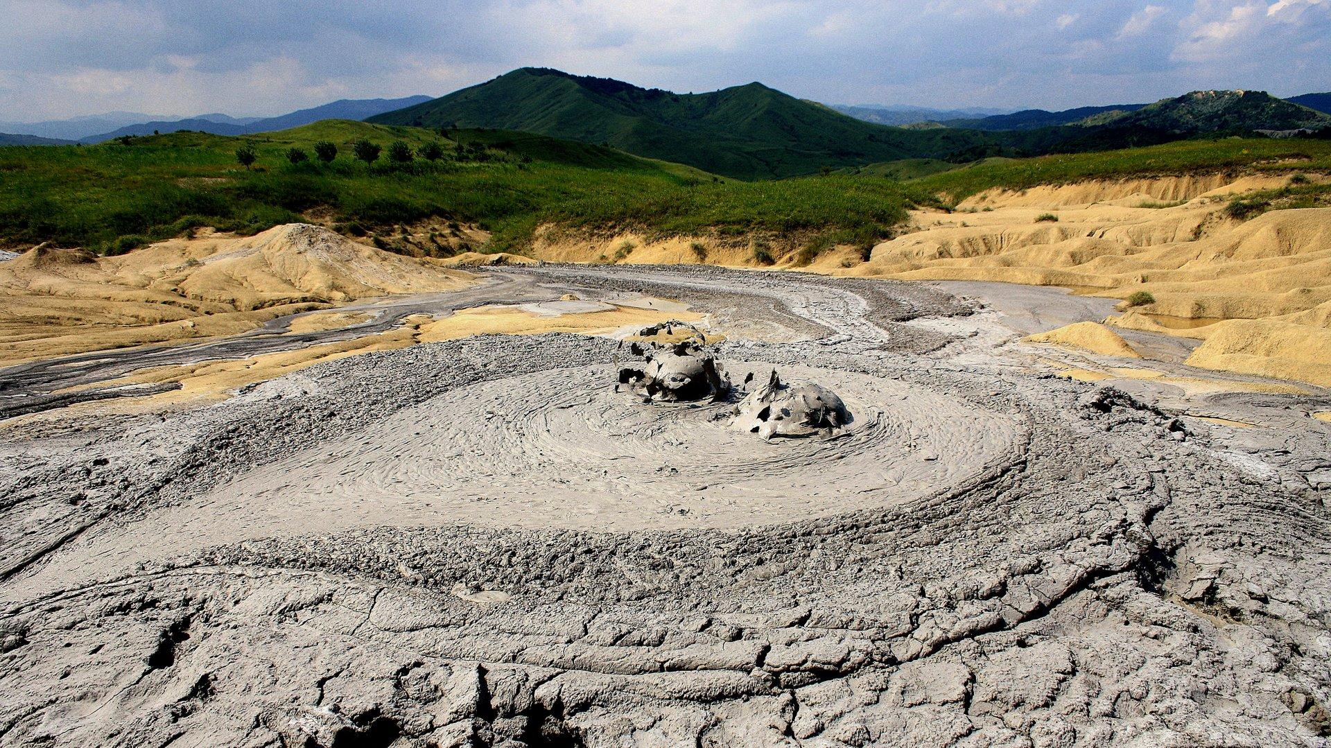 Mud Volcanoes in Romania 2020 - Best Time