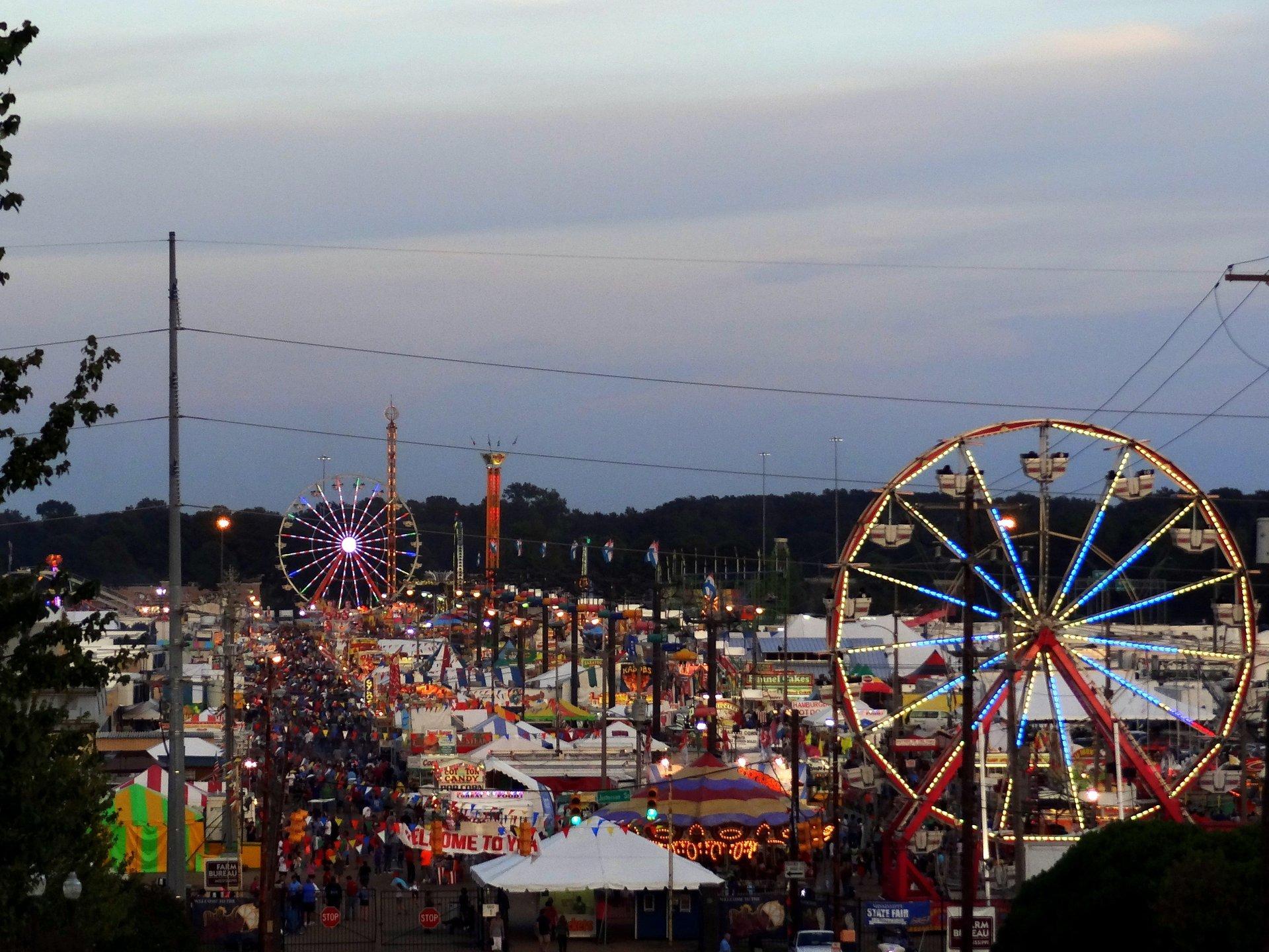Mississippi State Fair  in Mississippi - Best Season 2020