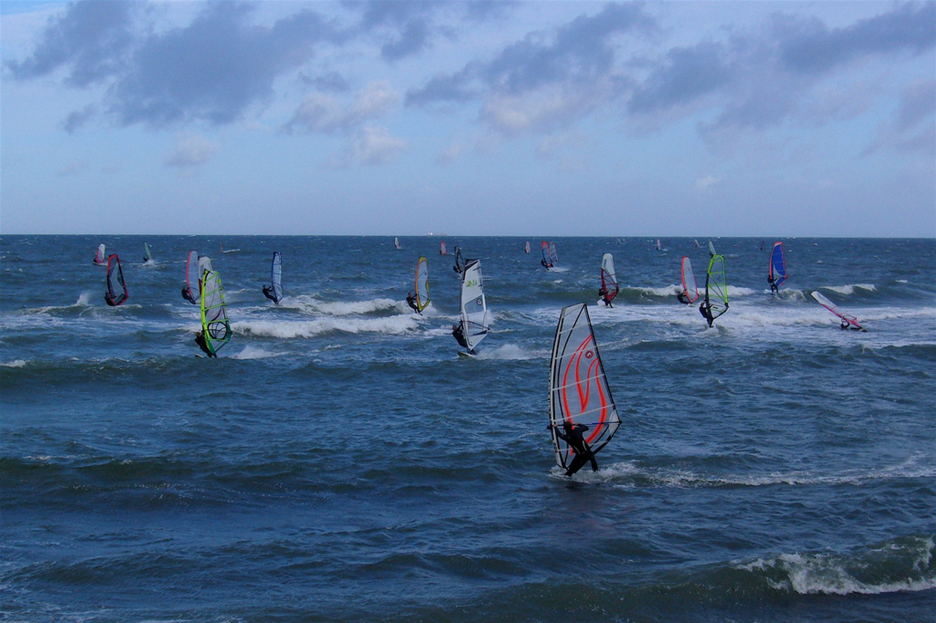 Best time for Kitesurfing and Windsurfing in Denmark 2020