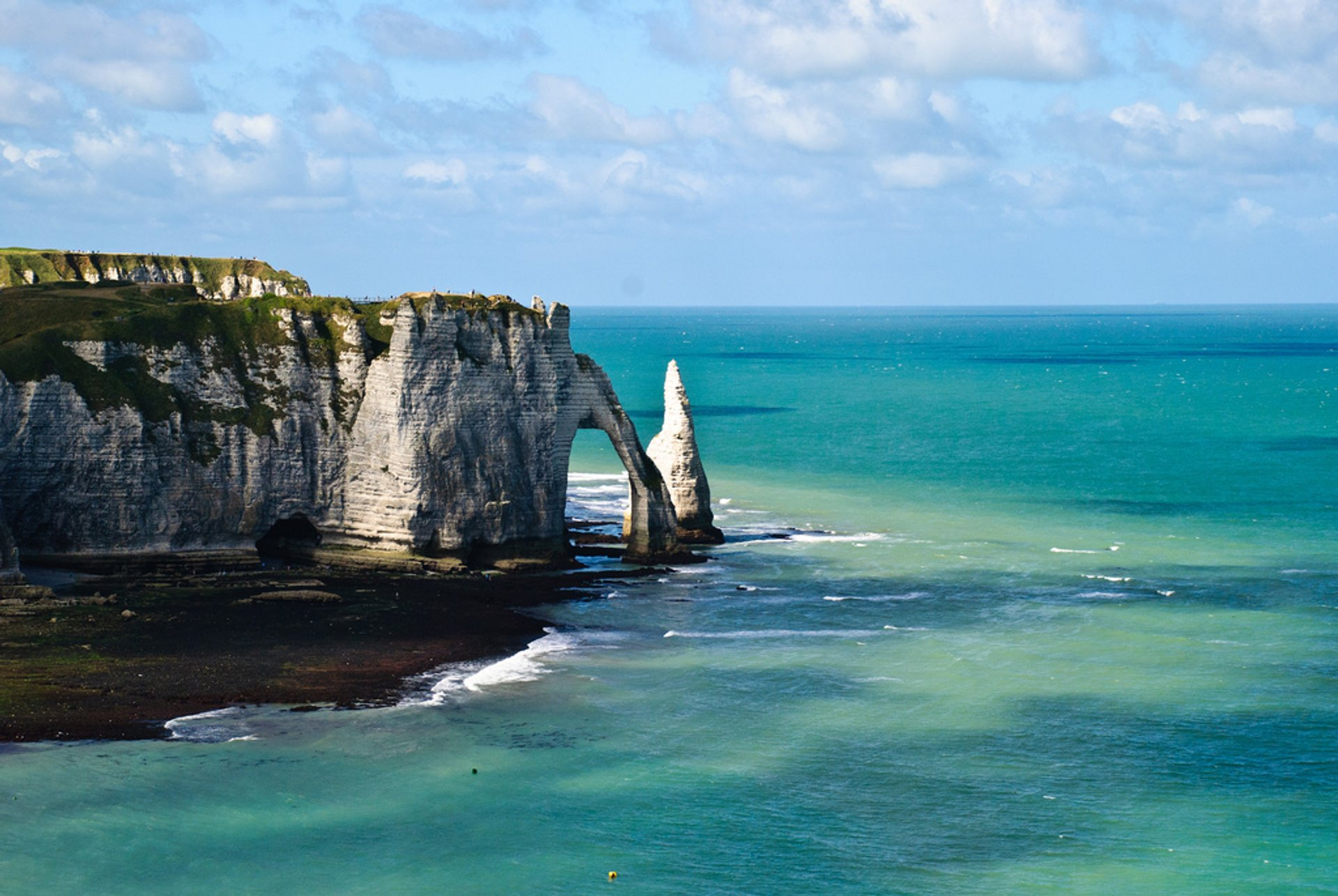 Best time for Étretat in Normandy 2020
