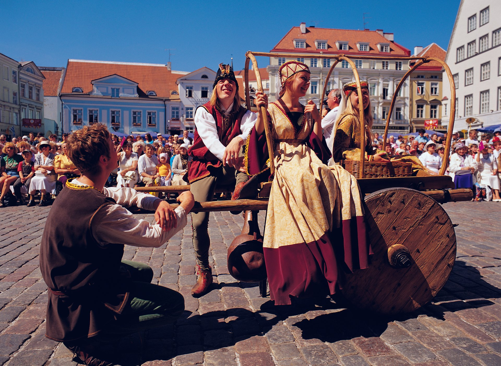 Best time to see Tallinn Medieval Days in Estonia 2019