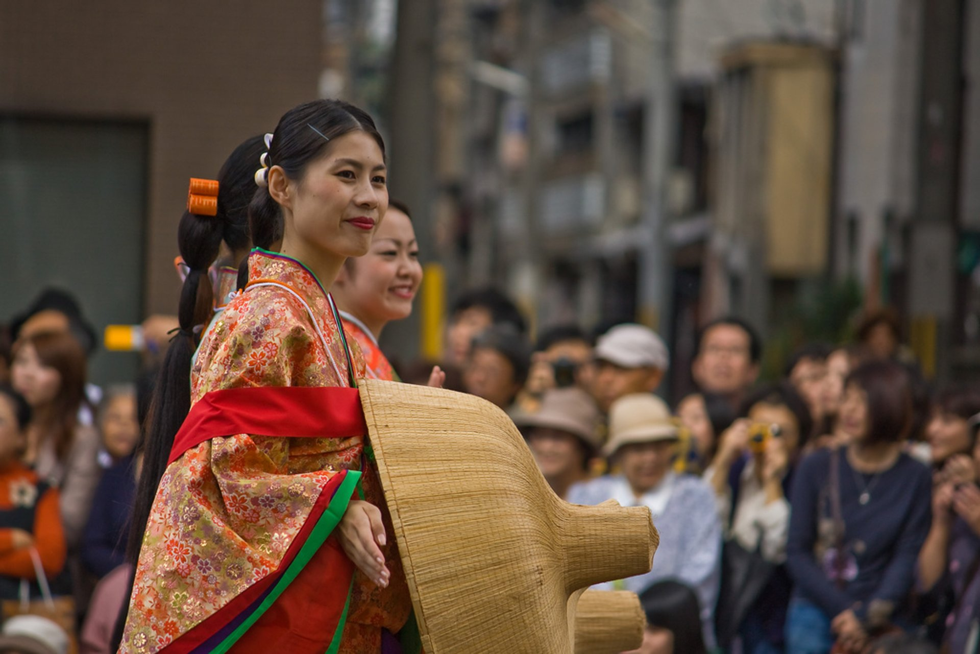 Best time for Jidai Matsuri (Festival) in Kyoto