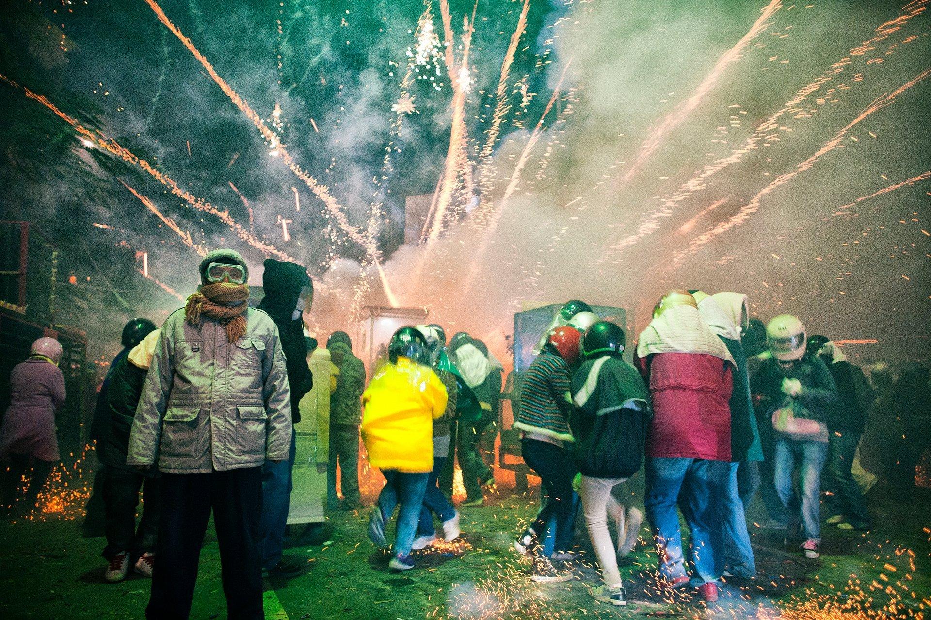 Yanshui Beehive Fireworks Festival in Taiwan 2020 - Best Time