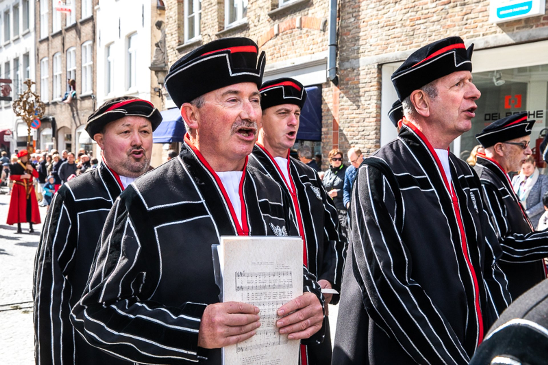 Best time for Procession of the Holy Blood (Bruges) 2020