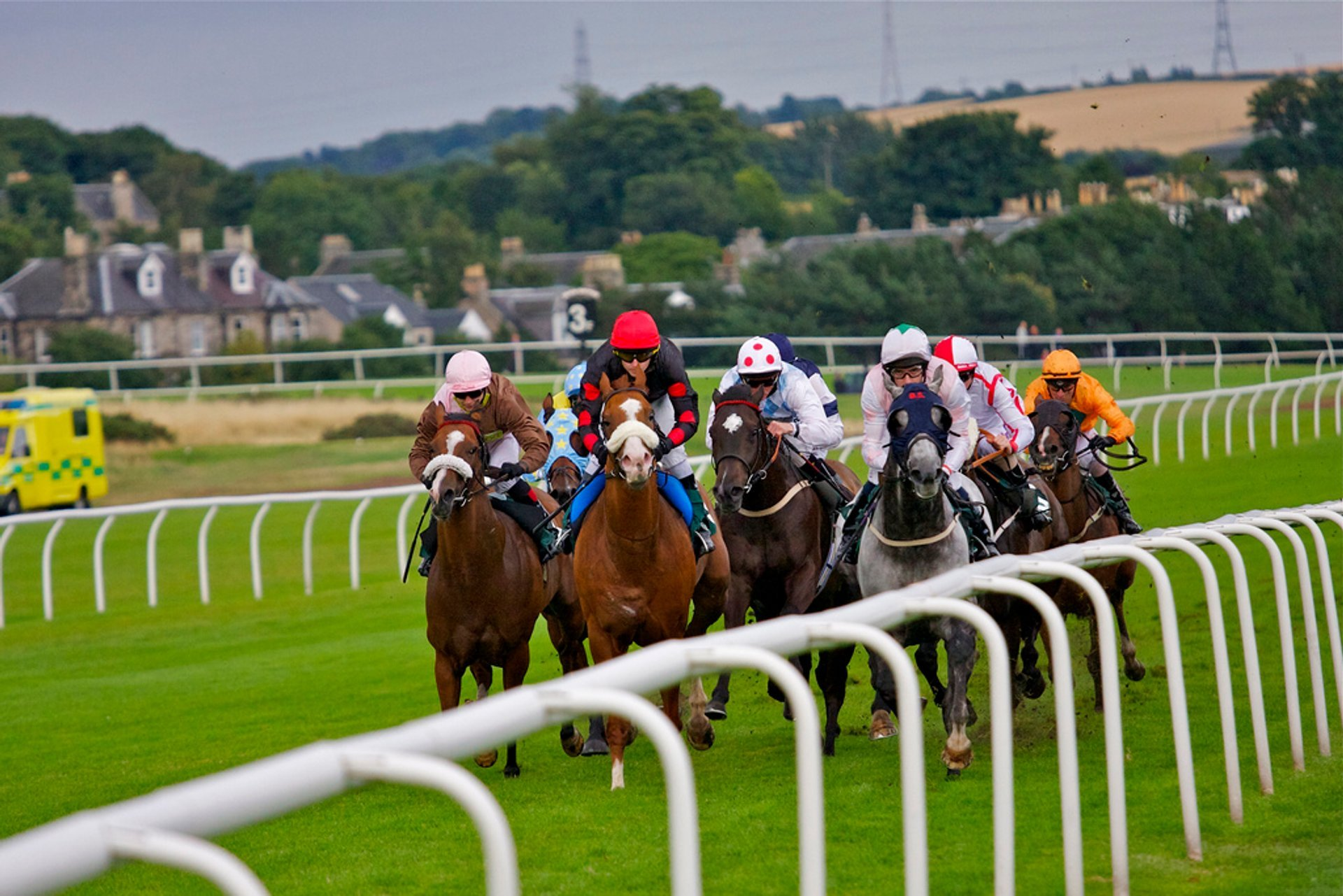 Horse Flat Racing Season in Edinburgh - Best Season