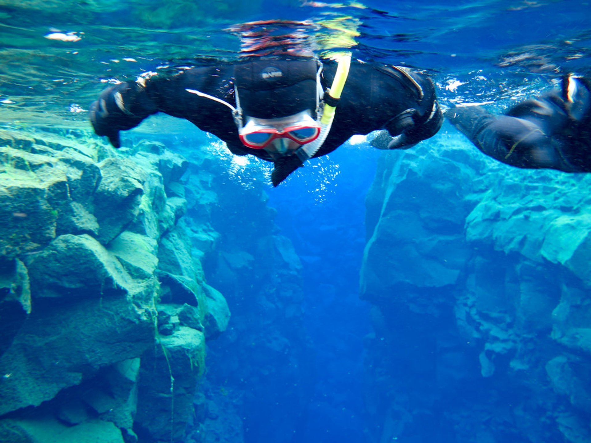 Snorkelling and Diving in the Mid-Atlantic Ridge in Iceland 2020 - Best Time
