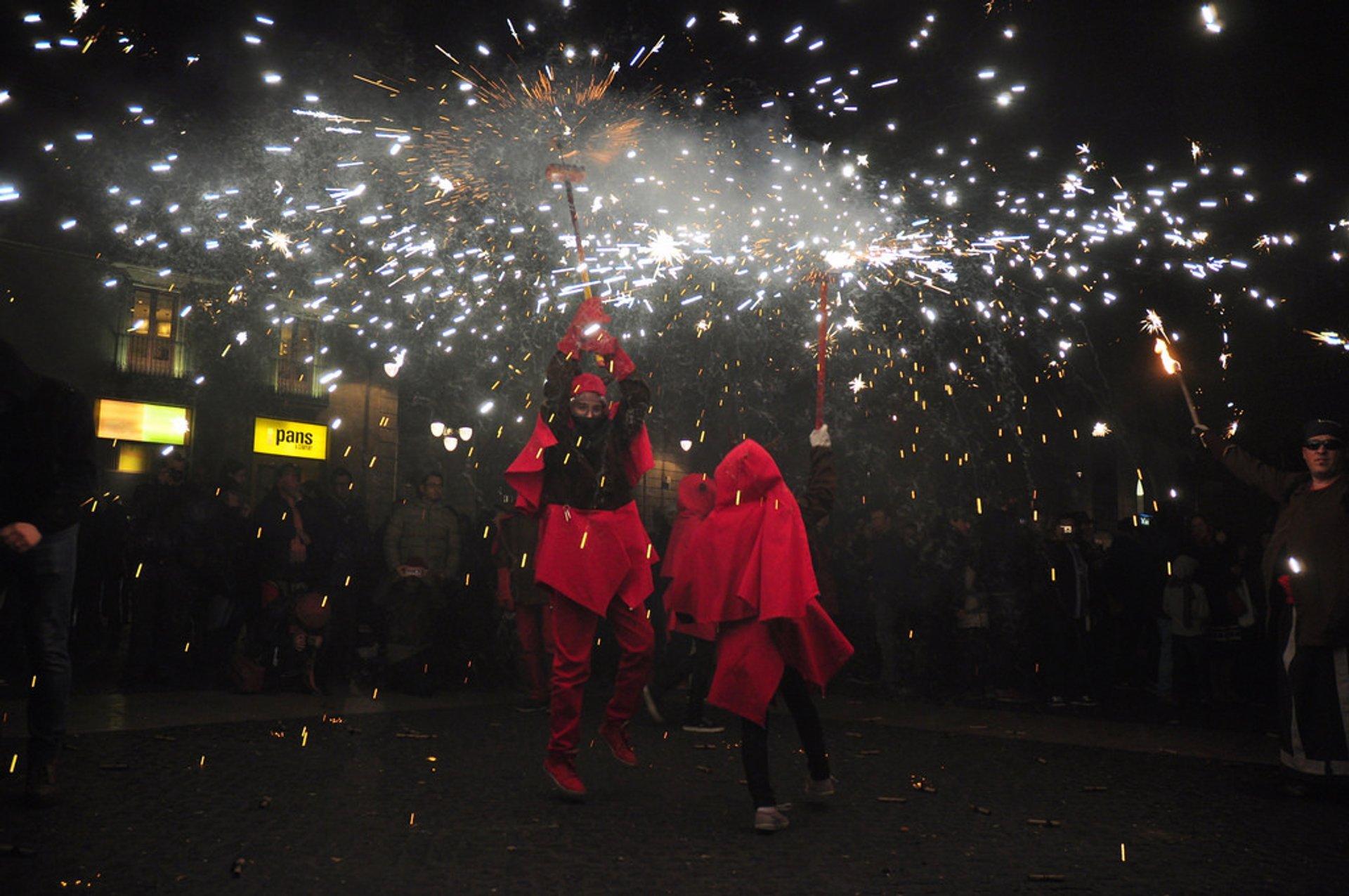 Fiesta de Santa Eulalia in Barcelona 2019 - Best Time