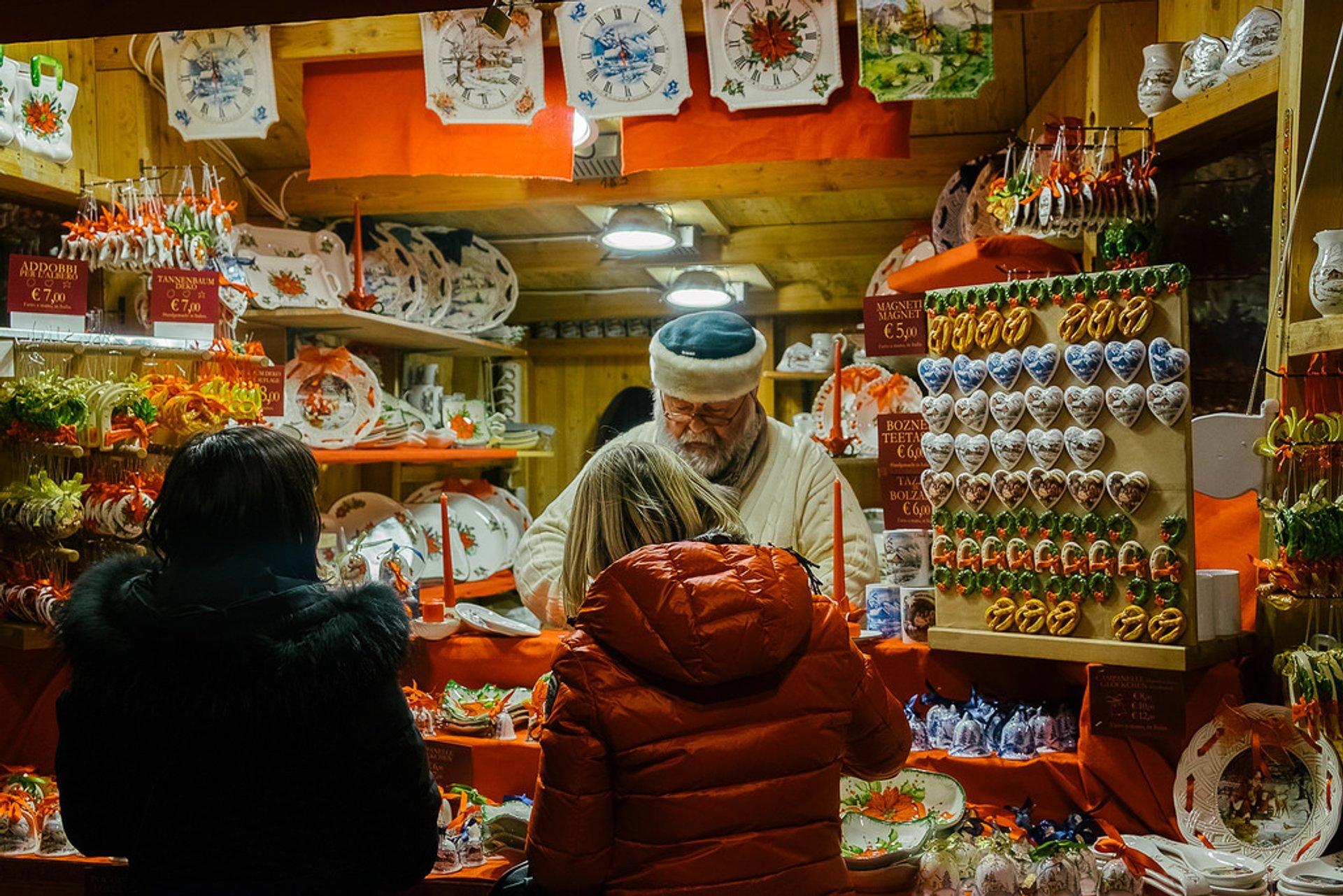 Bolzano Christmas Market 2020