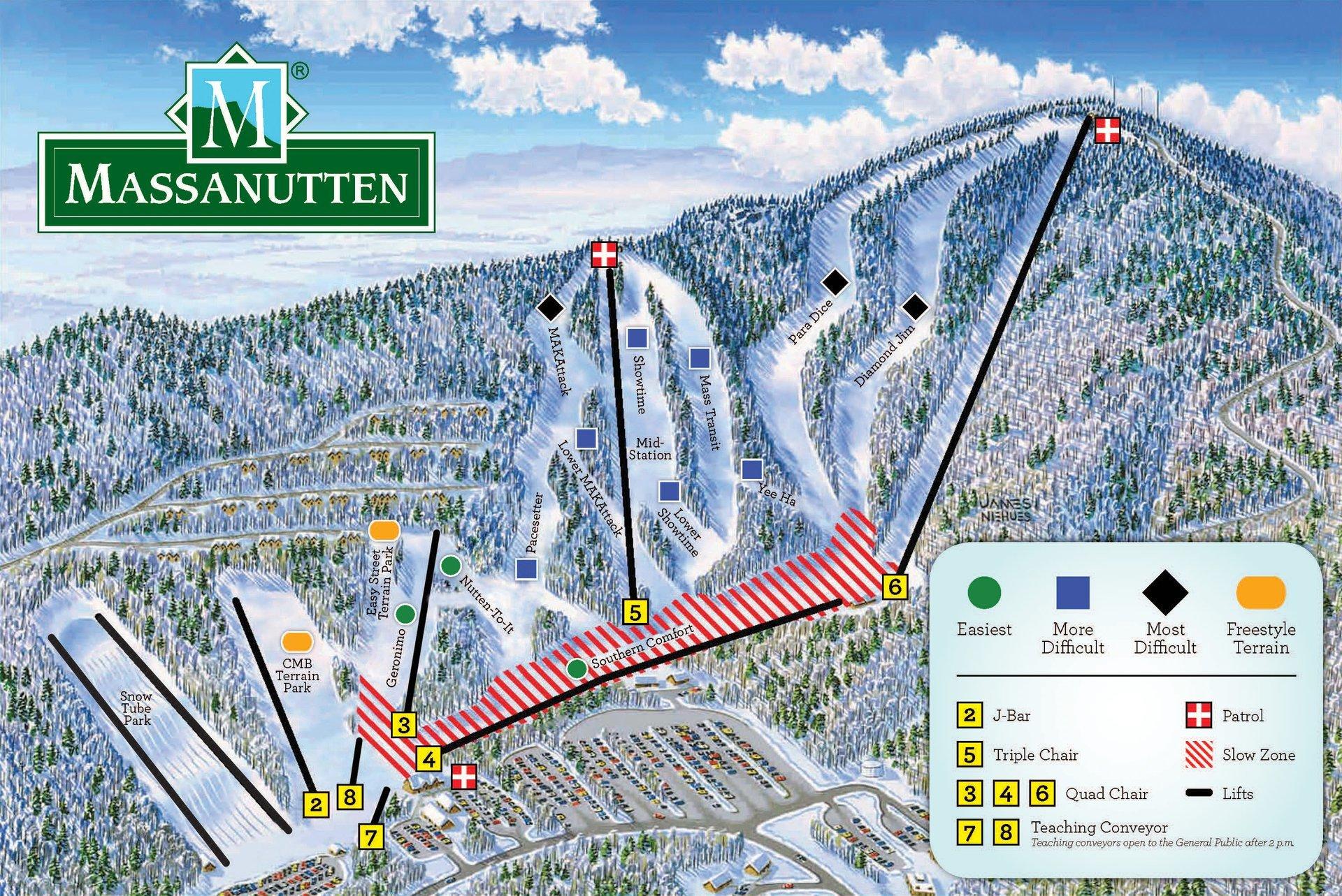 Skiing and Snowboarding in Virginia - Best Season 2020