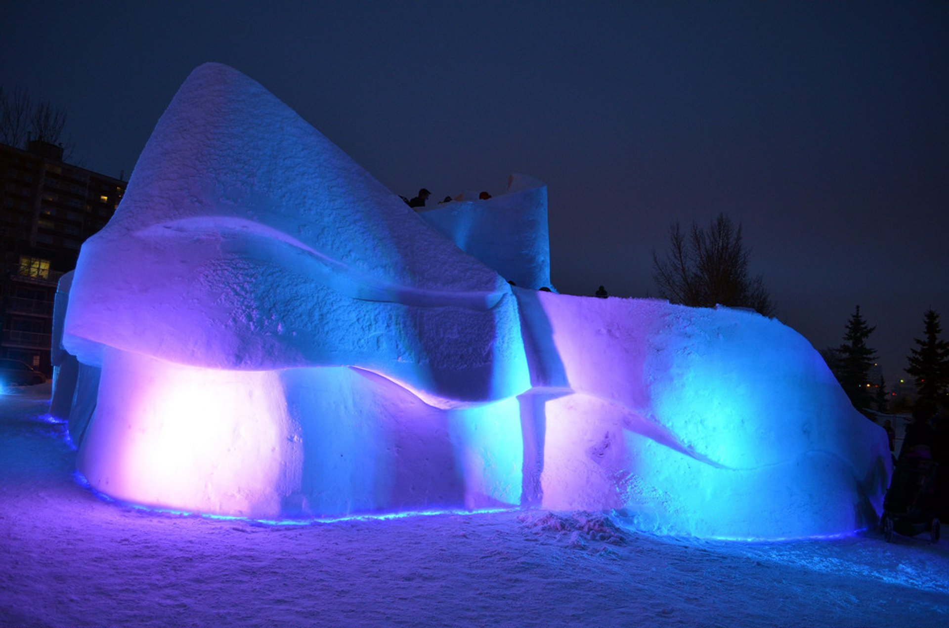 Best time to see Boardwalk Ice On Whyte in Edmonton 2020