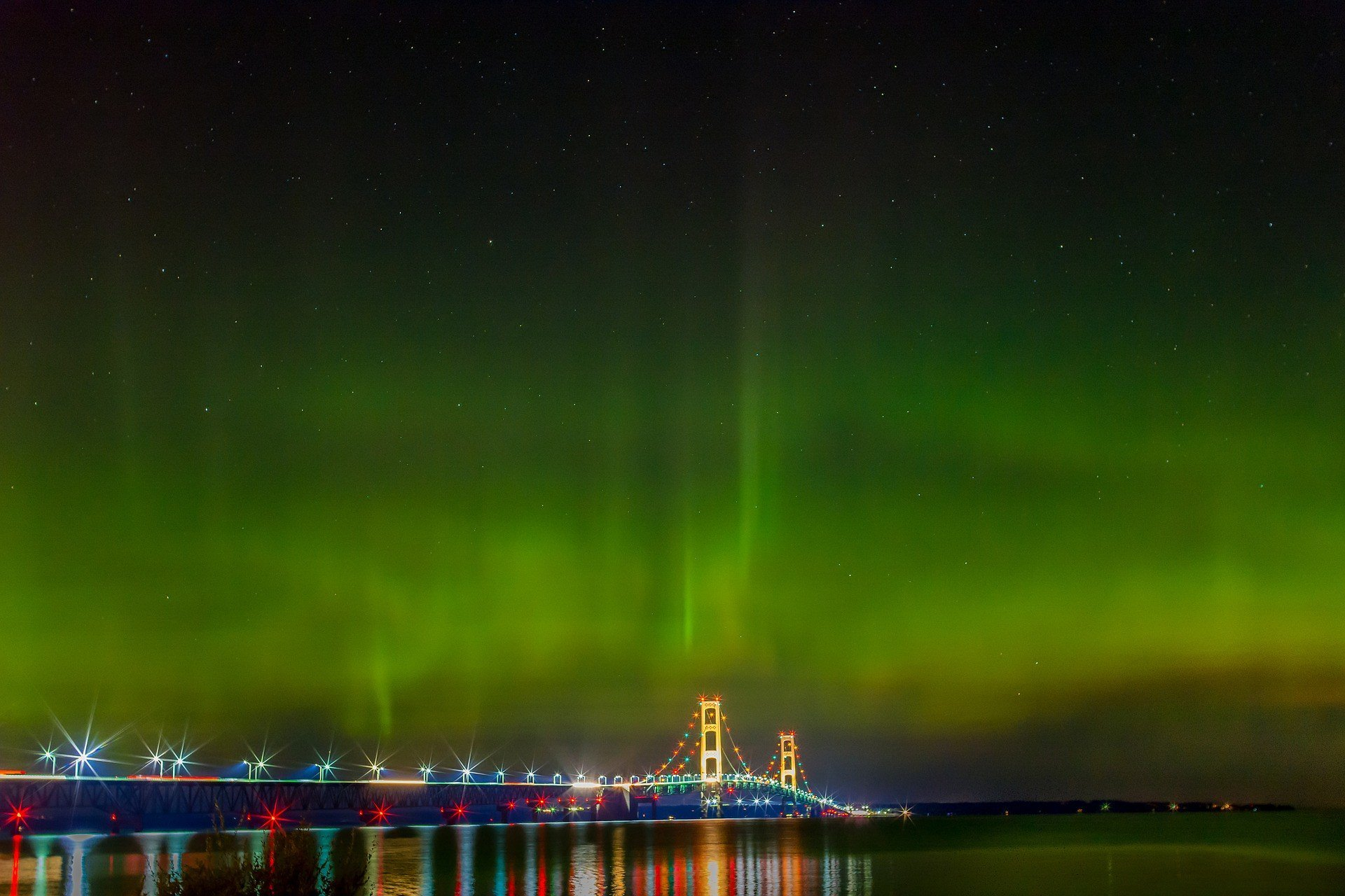Northern Lights  in Michigan - Best Season 2020