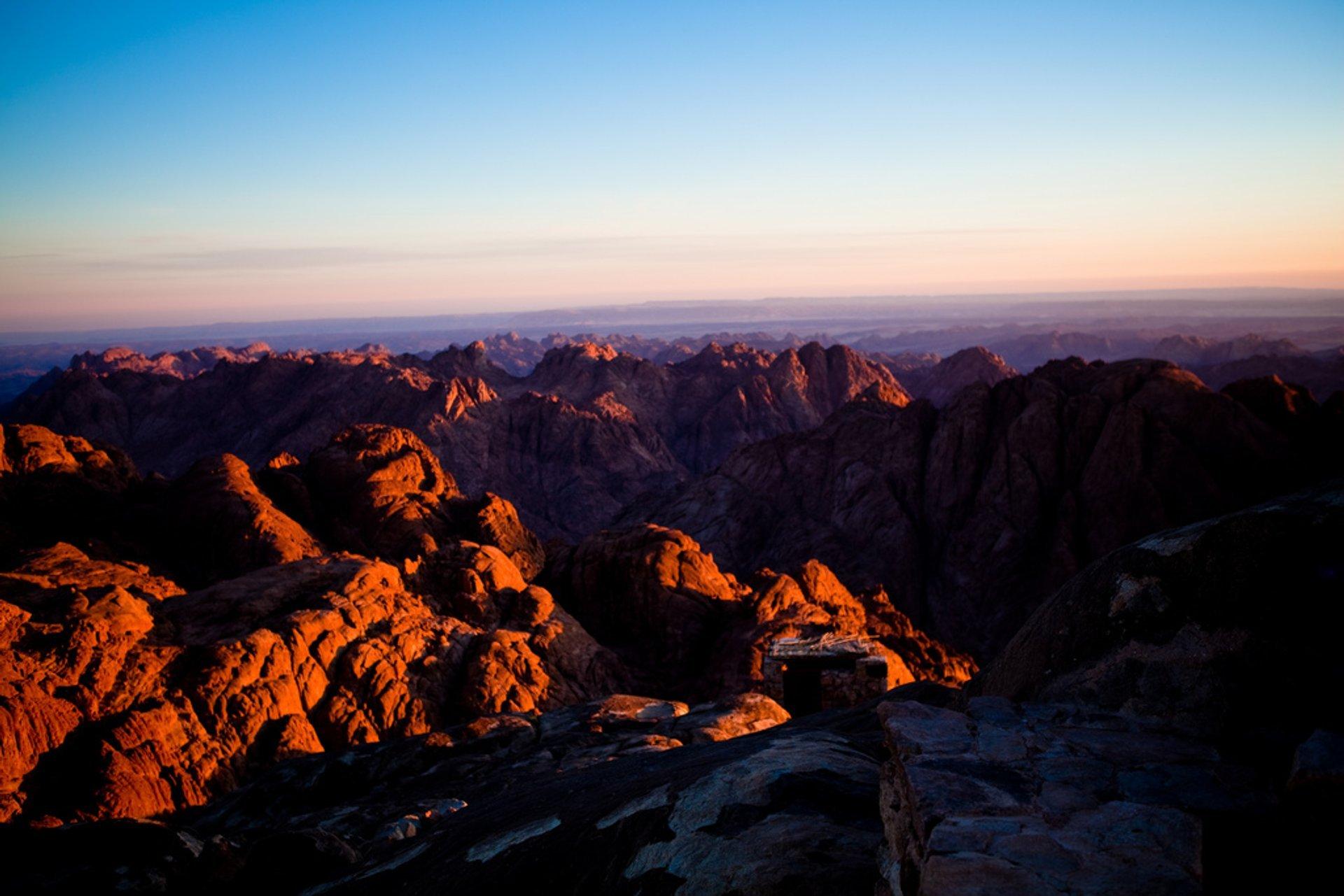 Sunrise over Mount Sinai
