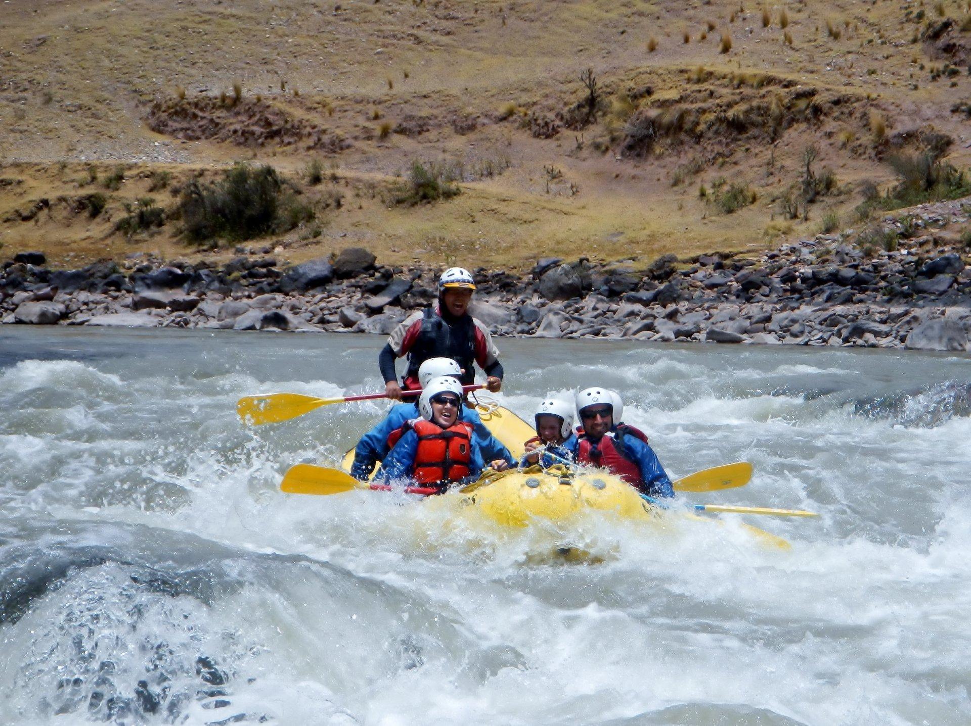 Rafting Season in Machu Picchu and Cusco 2019 - Best Time