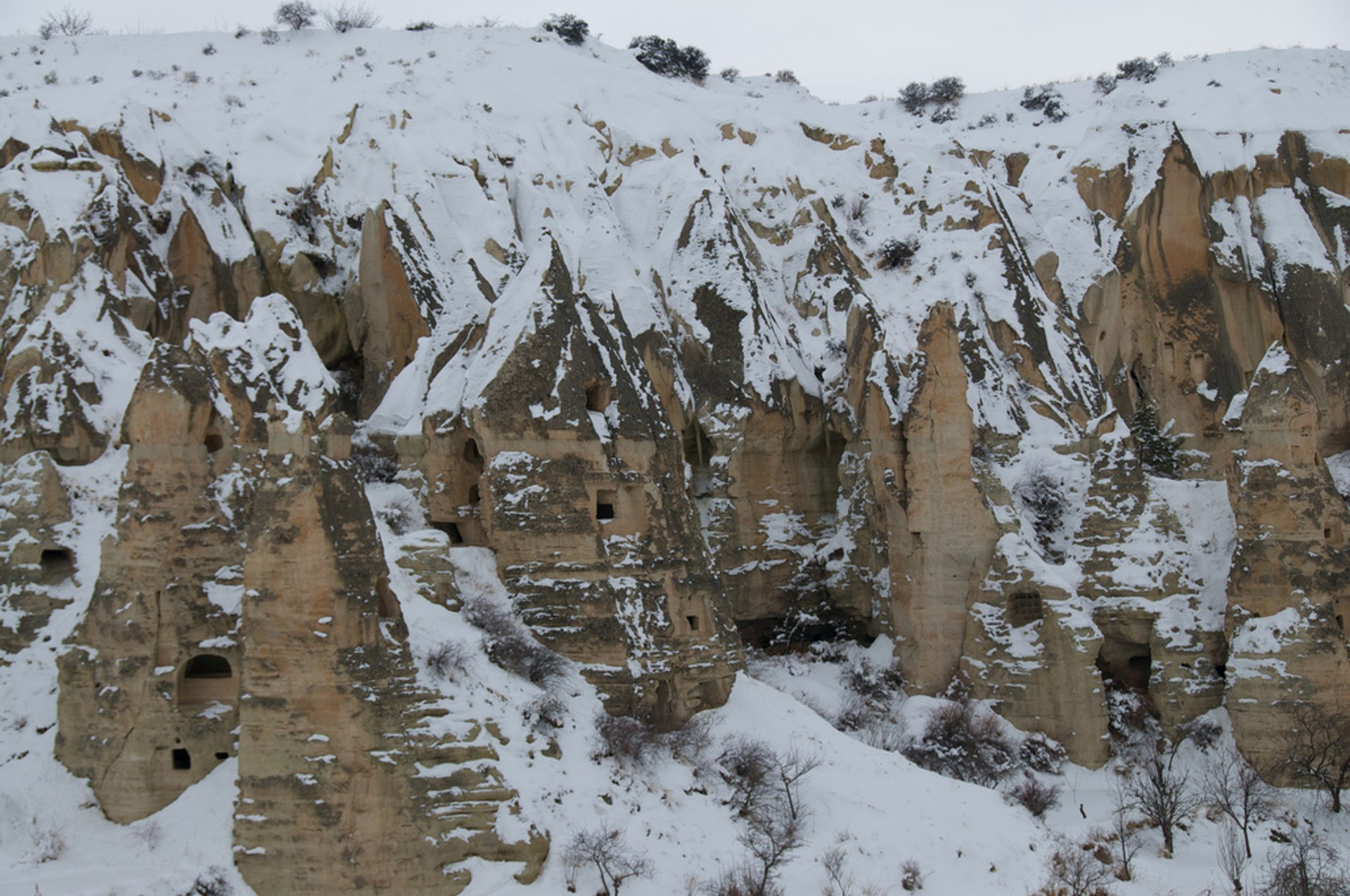 Best time to see Winter Hiking Adventure in Cappadocia 2019