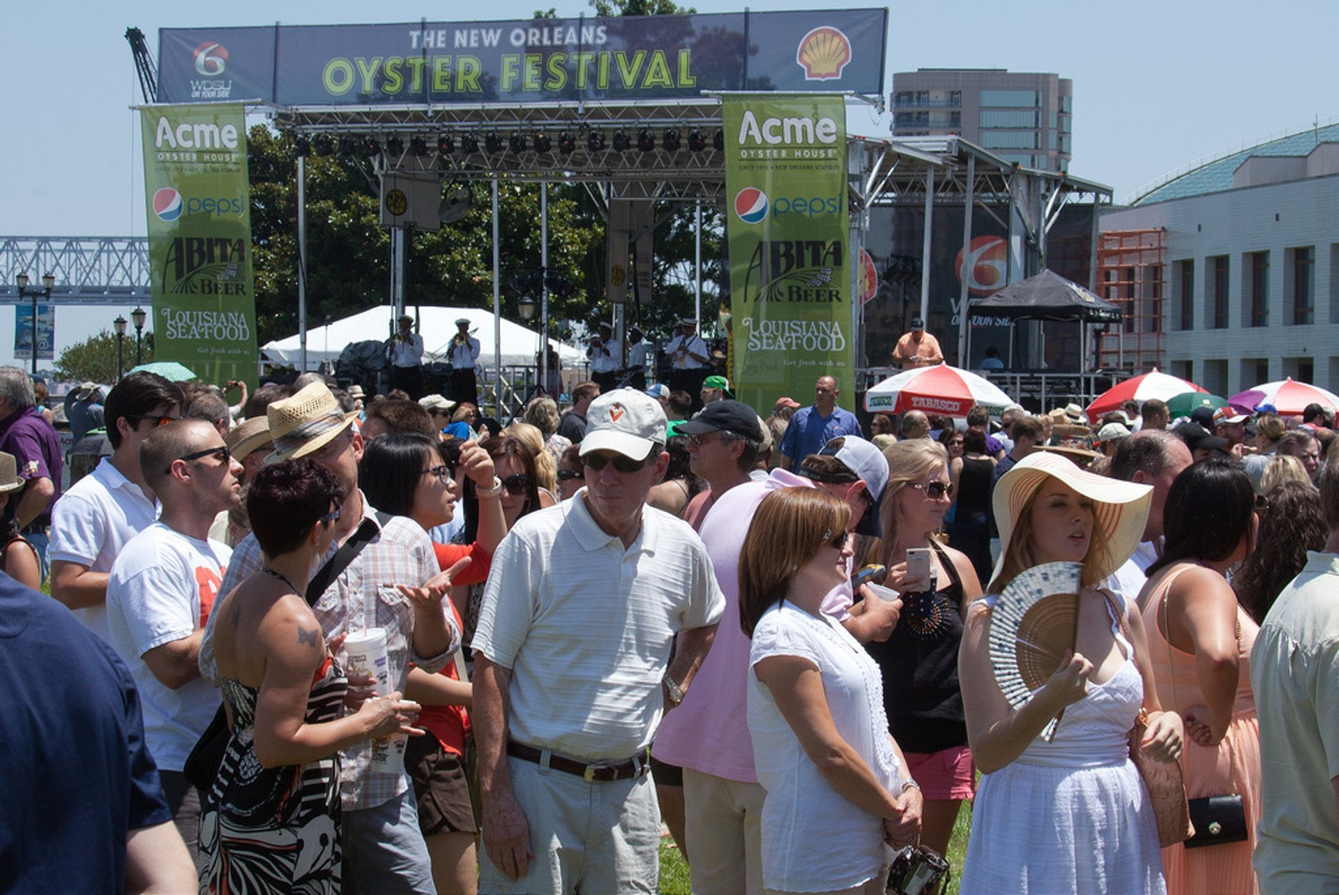 Best time for New Orleans Oyster Festival in New Orleans 2020