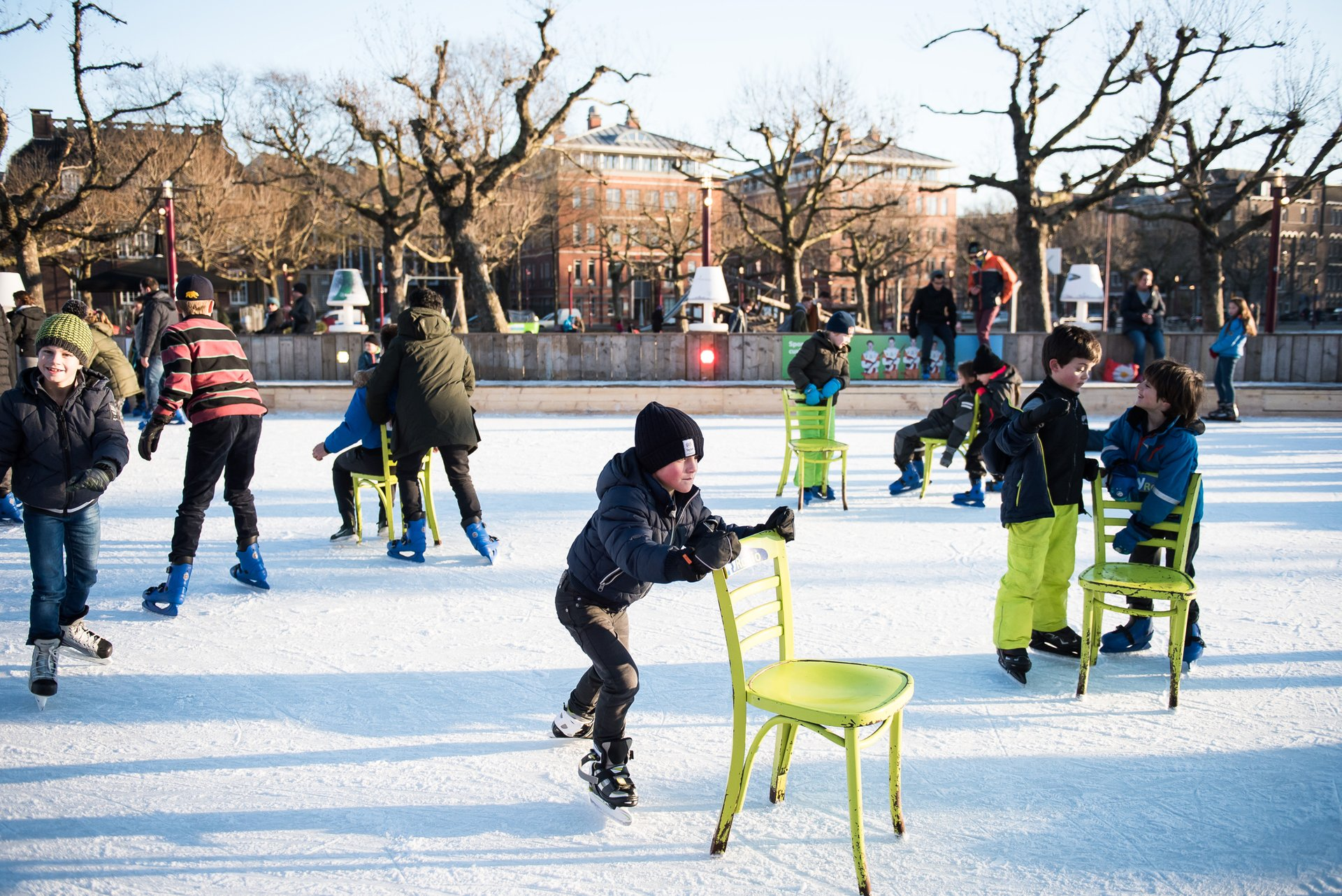 Ice*Amsterdam Ice Rink at Museumplein 2020